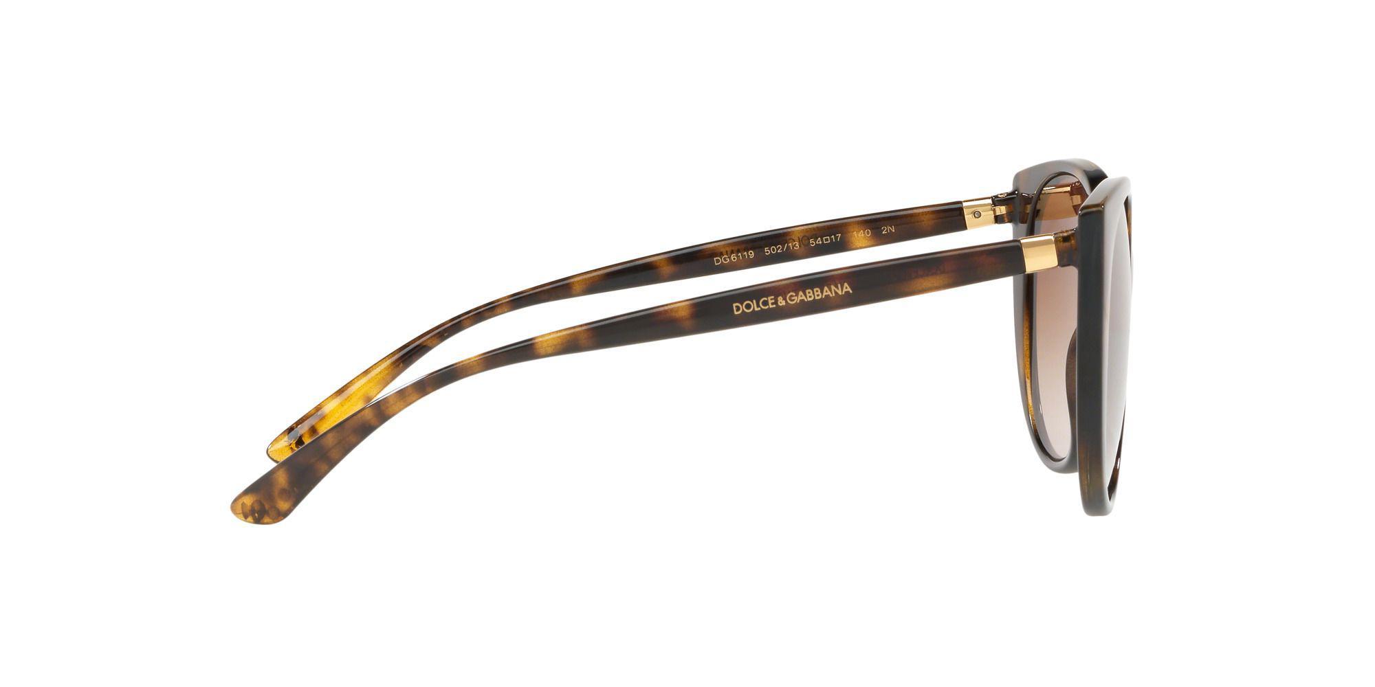 5305fd4e5cb Dolce   Gabbana - Brown Havana 0dg6119 Butterfly Sunglasses - Lyst. View  fullscreen