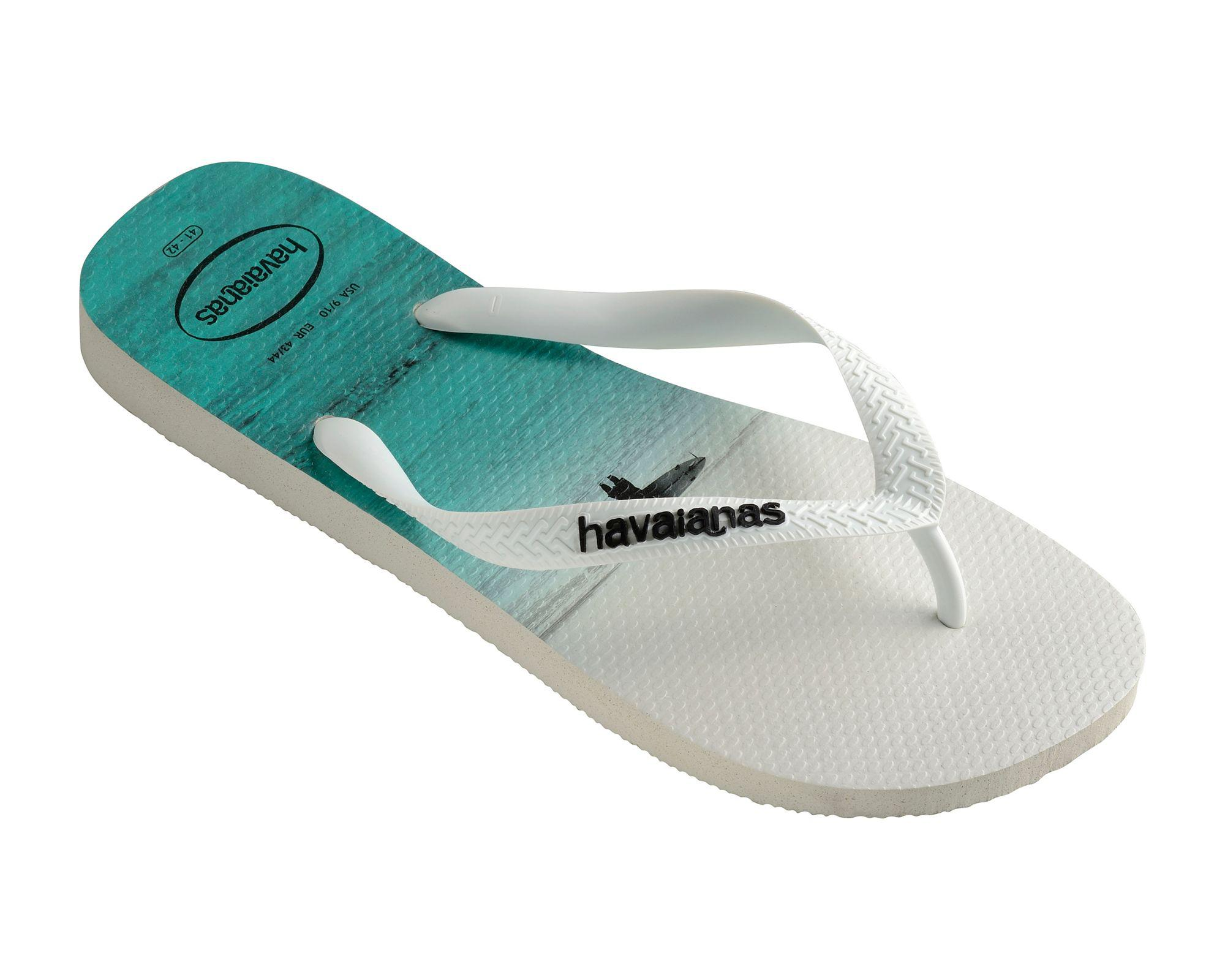 13b8eb6d31a4 Havaianas White Hype Flip Flops in White for Men - Save 68% - Lyst