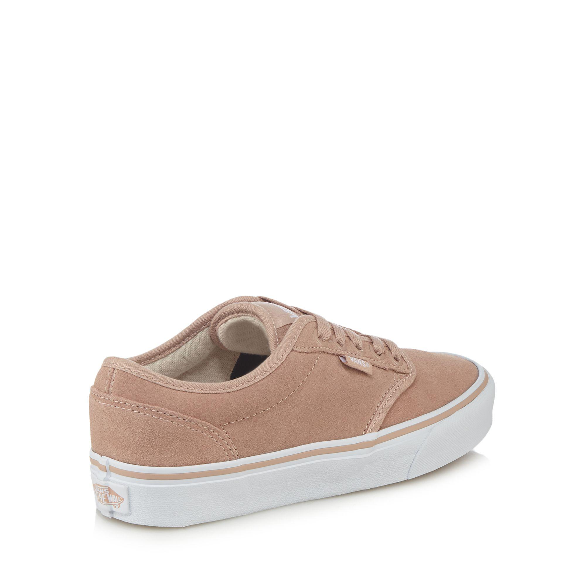 Vans Pink Suede 'atwood' Trainers