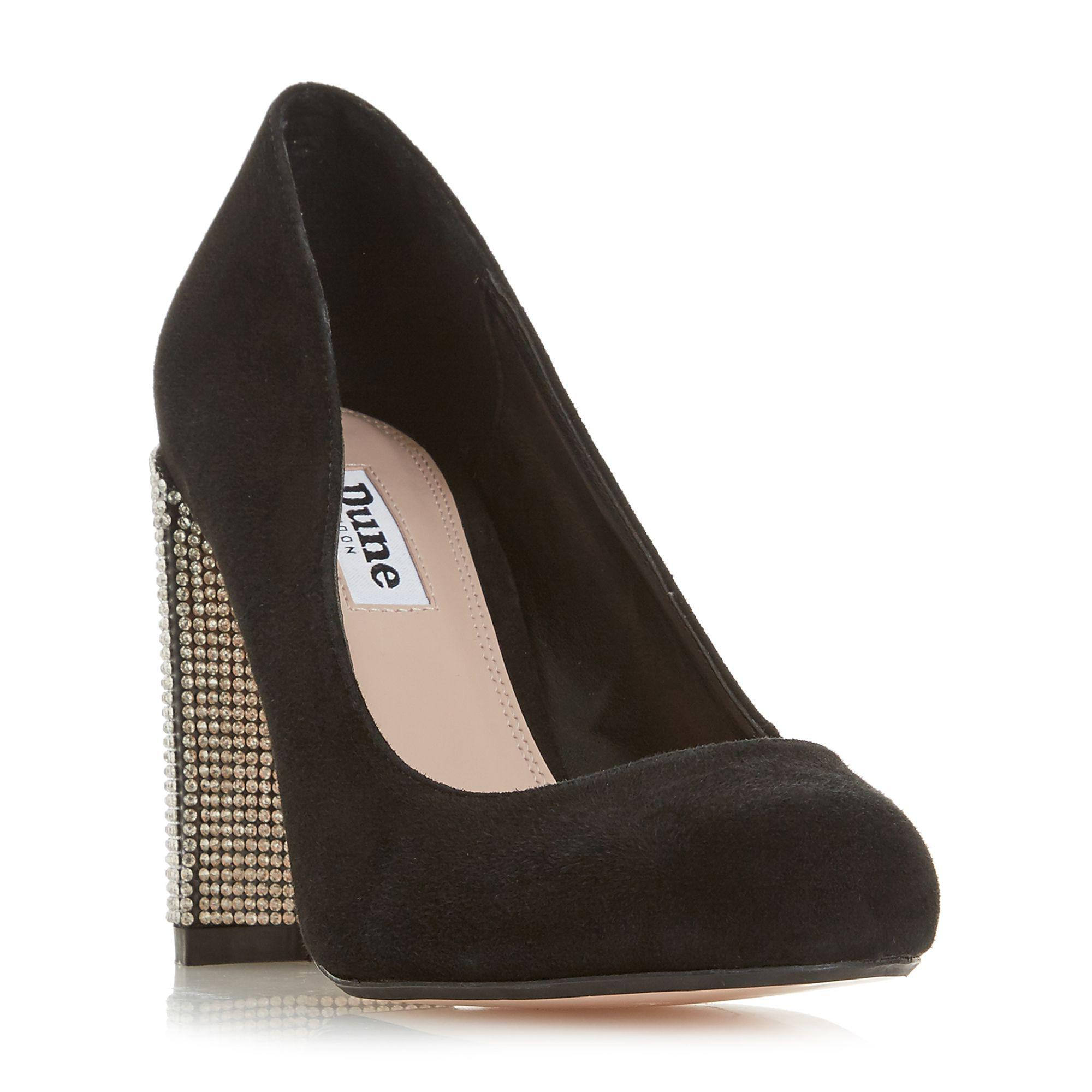 f9d7ae7feb417d ... Dune - Black Suede bling Court Shoes - Lyst. View Fullscreen clearance  prices 77547 a41f6 ...