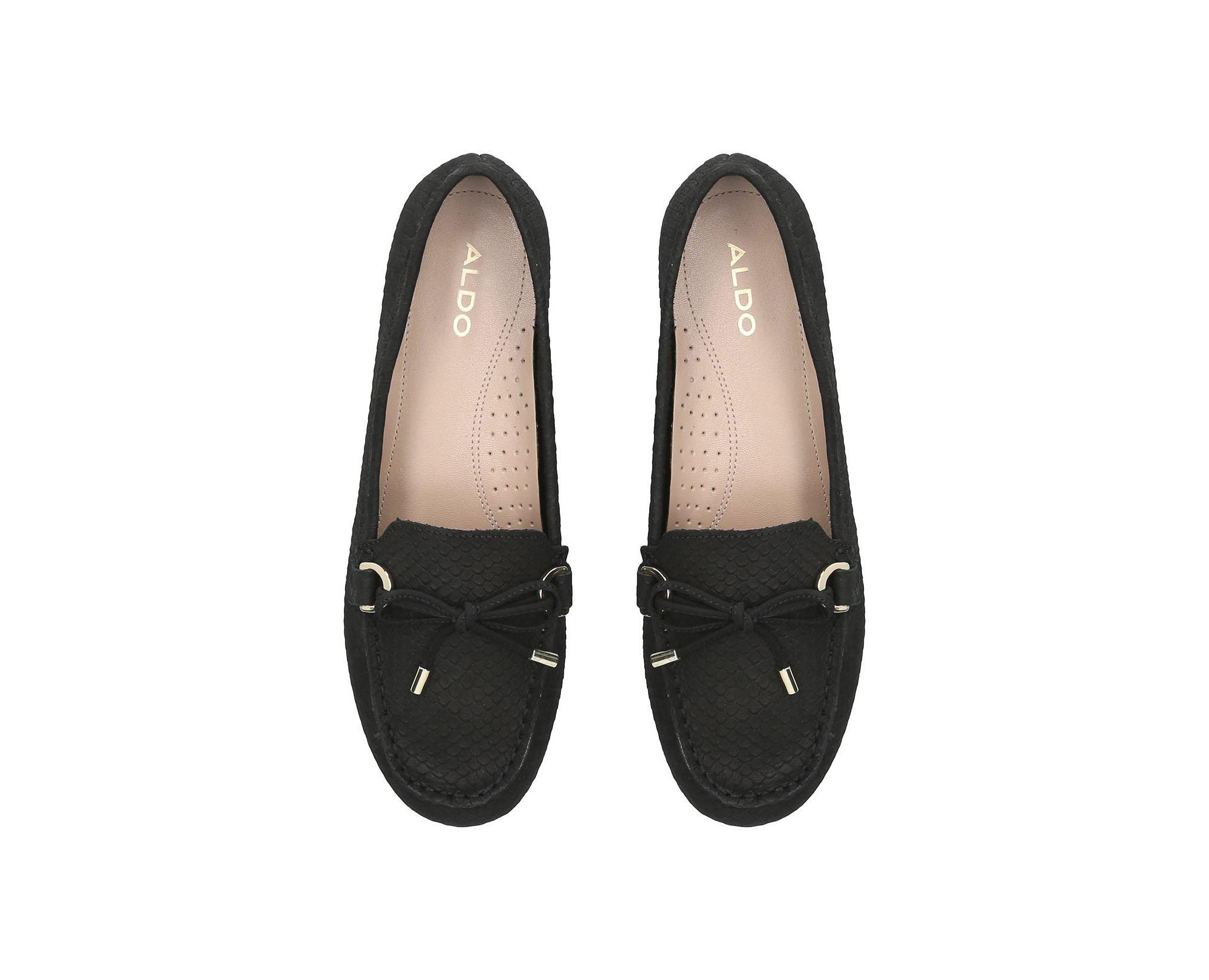 ec8b2330a21 ALDO - Black  adrerinia  Loafers - Lyst. View fullscreen