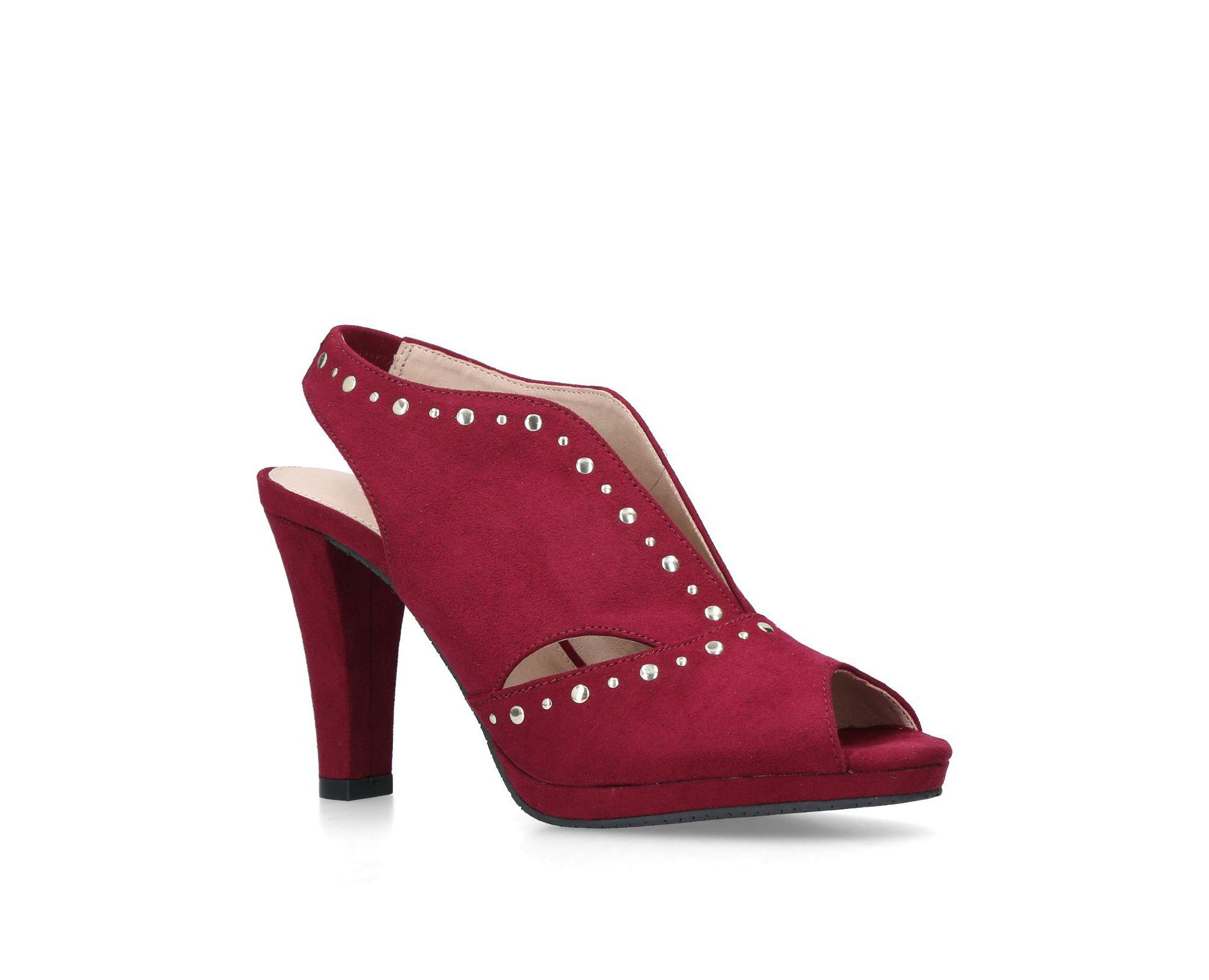 7c1cbf048a3 Carvela Kurt Geiger Wine  tasmin  High Heel Sandals in Red - Save 26 ...