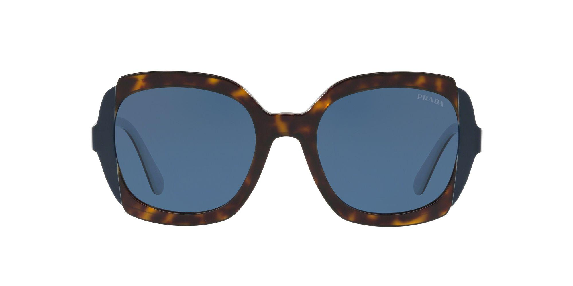 Prada Synthetic 16us Rectangle Sunglasses in Black (Blue) - Save 2%