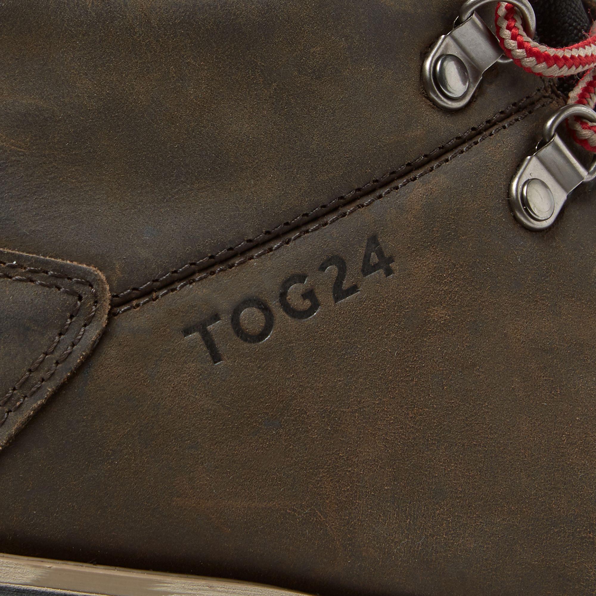 762f7f4b565 Tog 24 Men's Chocolate And Red Ingleborough Vibram Waterproof Boots ...