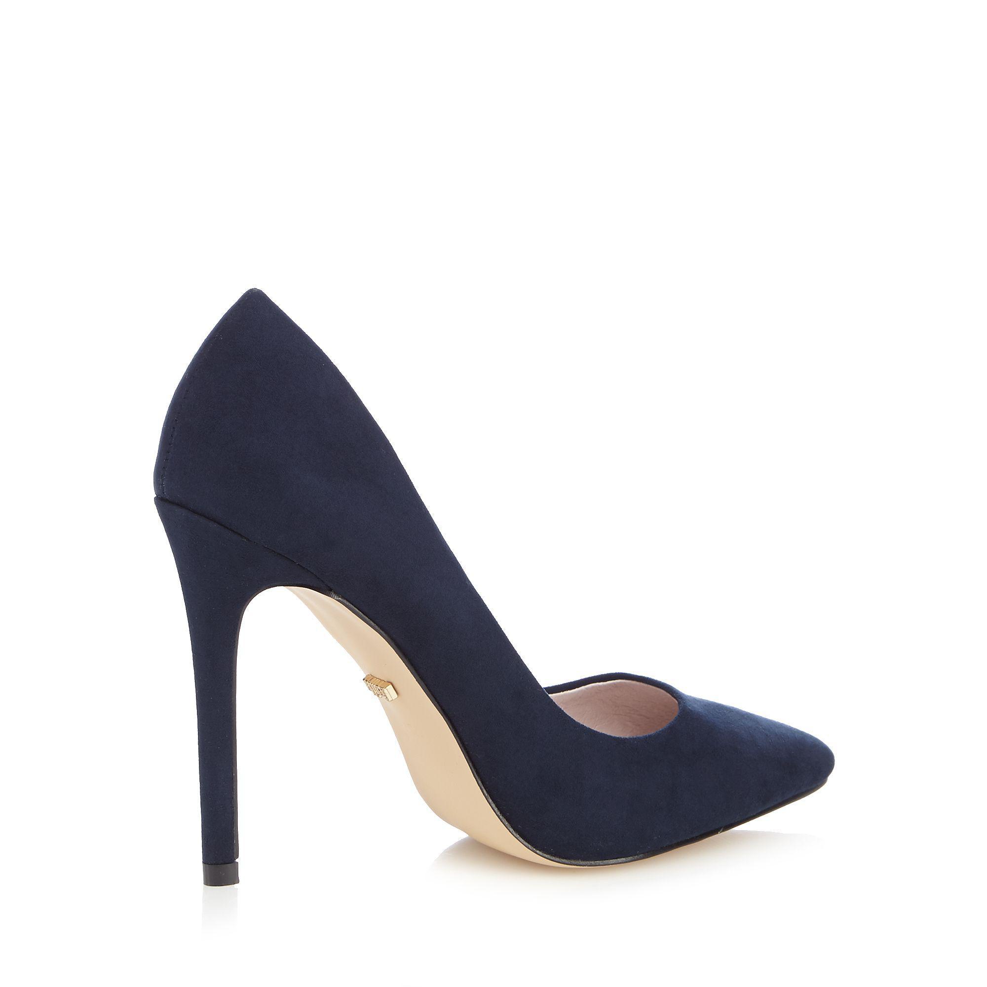 3cc970bd0baea1 Faith - Blue Navy  chloe  Wide Fit Court Shoes - Lyst. View fullscreen