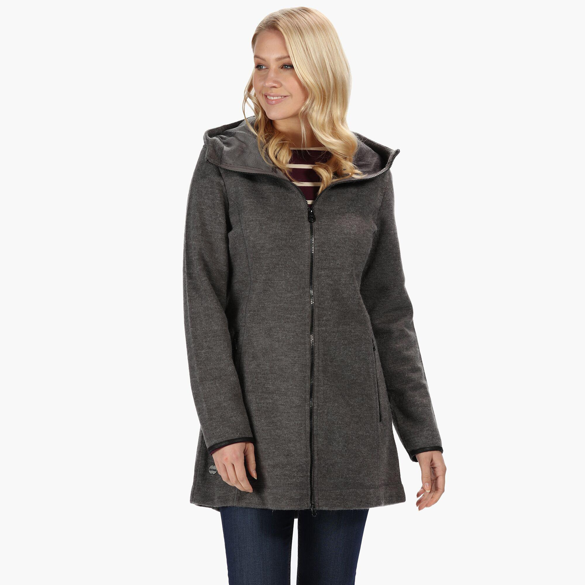 Regatta Seymore III Womens Technical Hooded Zip Through Fleece Jacket