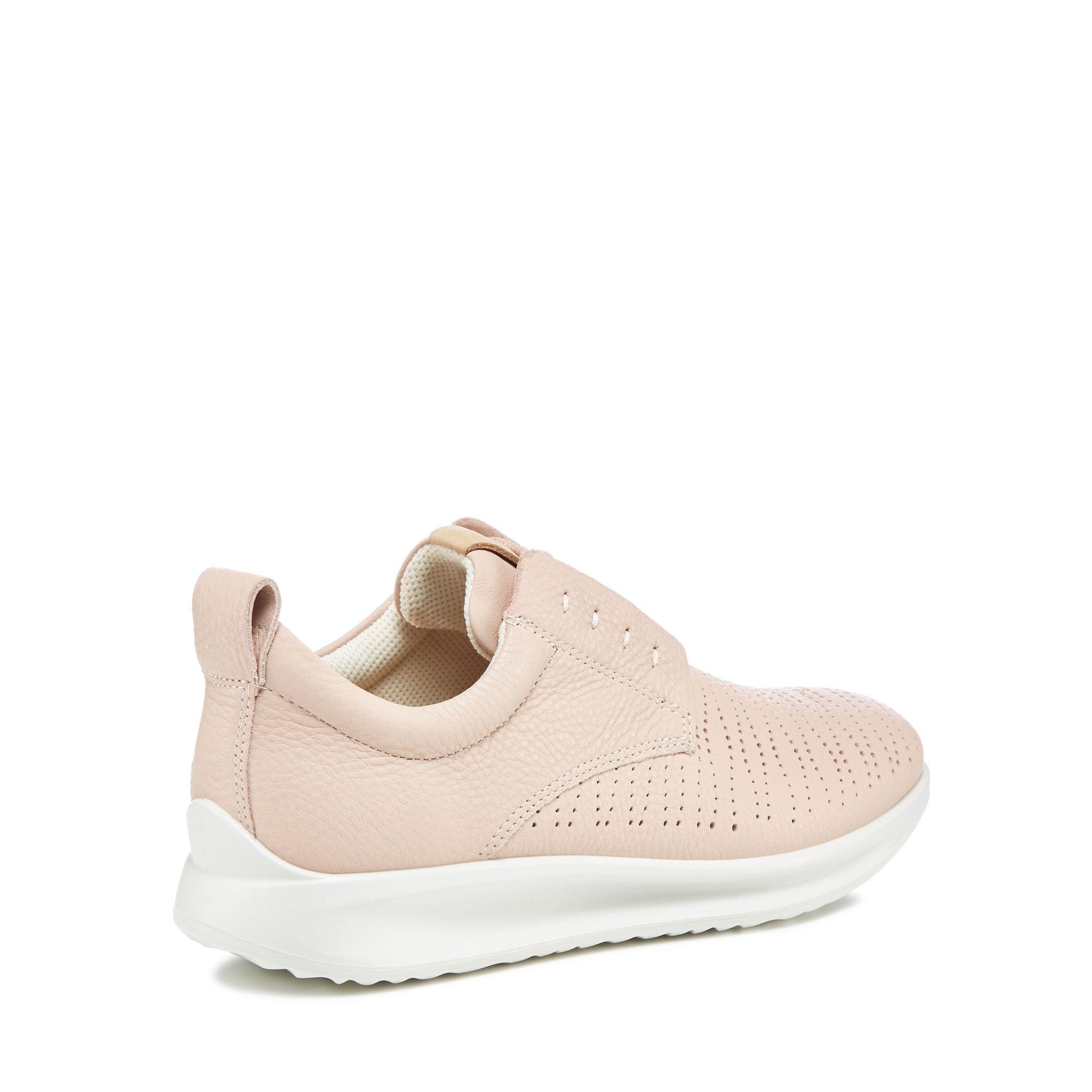 official supplier special section preview of Ecco Pink Leather 'aquet' Trainers - Lyst