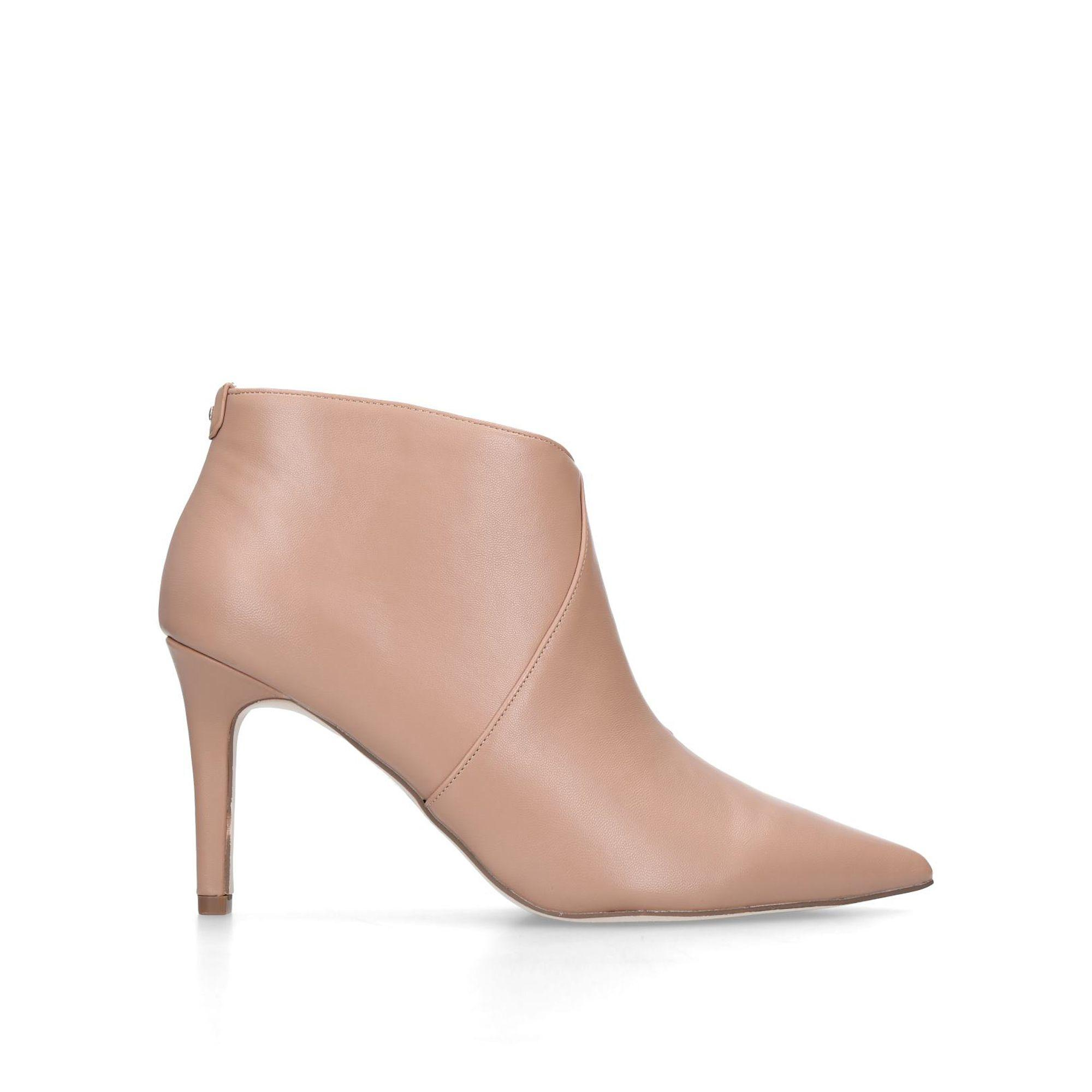 df9dfd5d905 Women's Natural Nude 'jiles' Mid Heel Ankle Boots