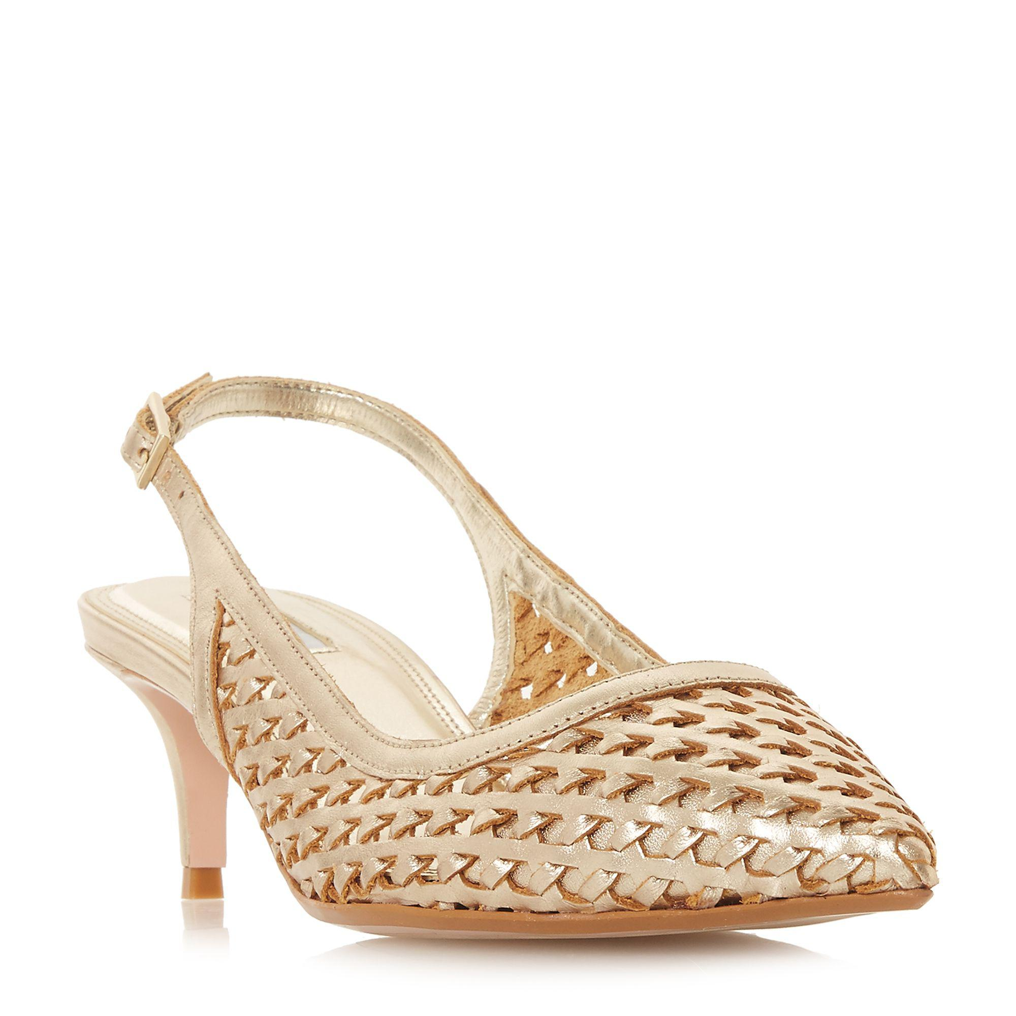 cheap sale many kinds of sale order Pale_blue 'Crystal' mid kitten heel court shoes clearance hot sale 100% guaranteed cheap price xIXVIAOzSX