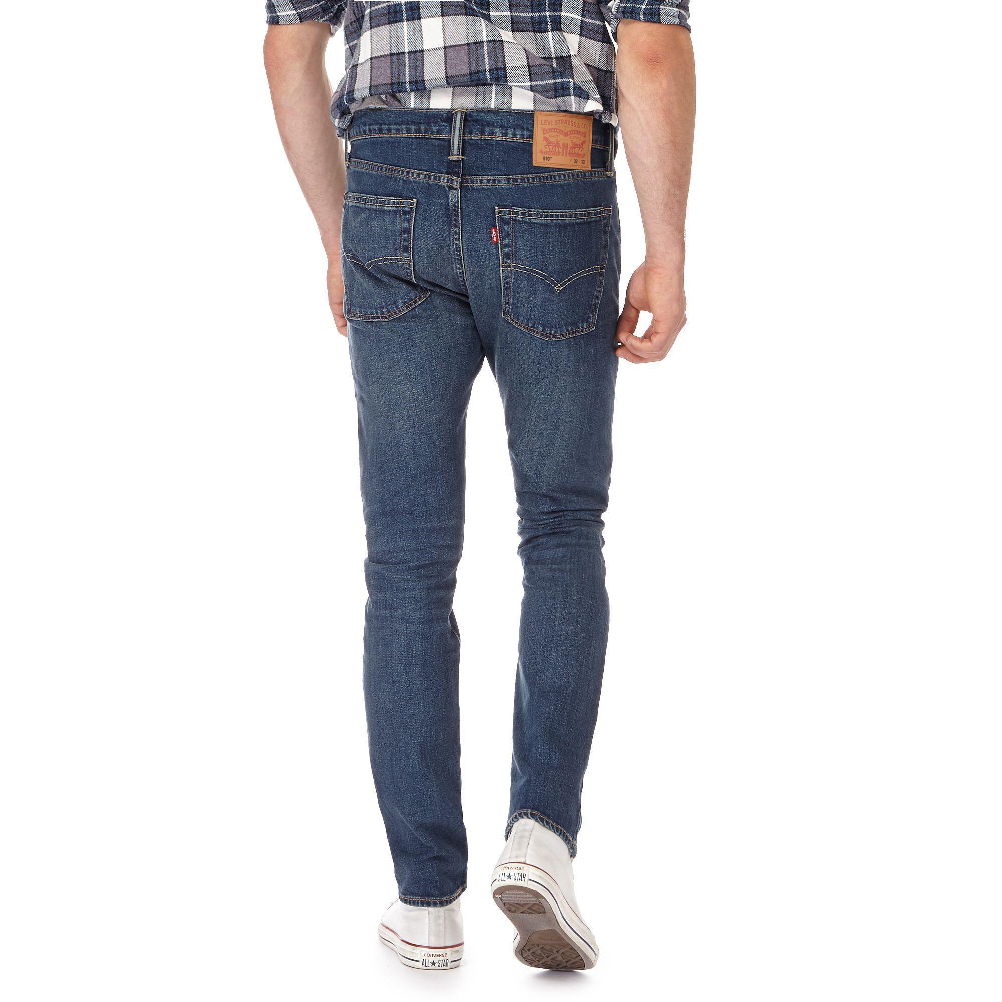 Levi's Denim Blue '510' Skinny Jeans for Men