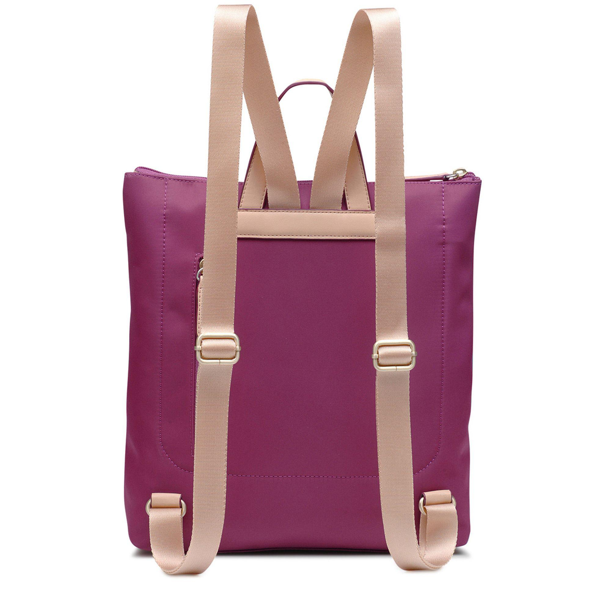 Radley Synthetic Pink Pocket Essentials Large Zip-top Backpack