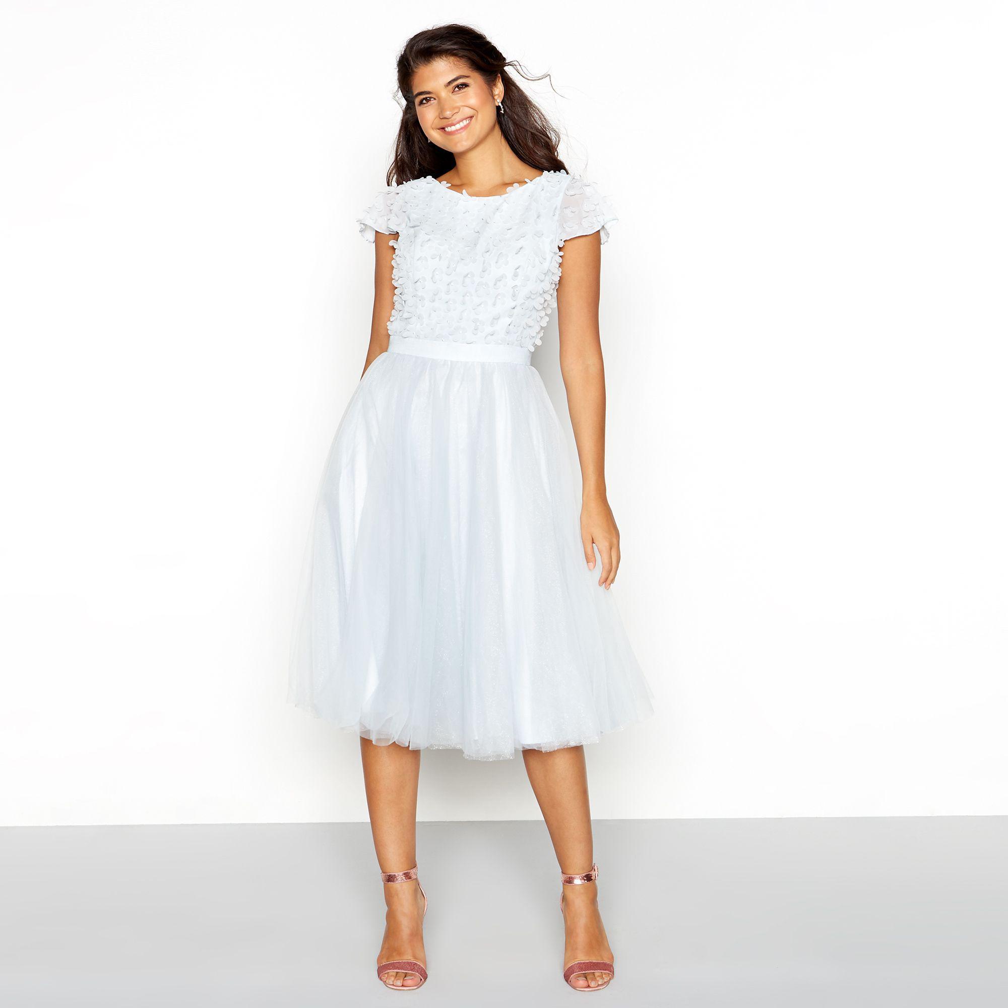 Short Sleeve Knee Length Dress