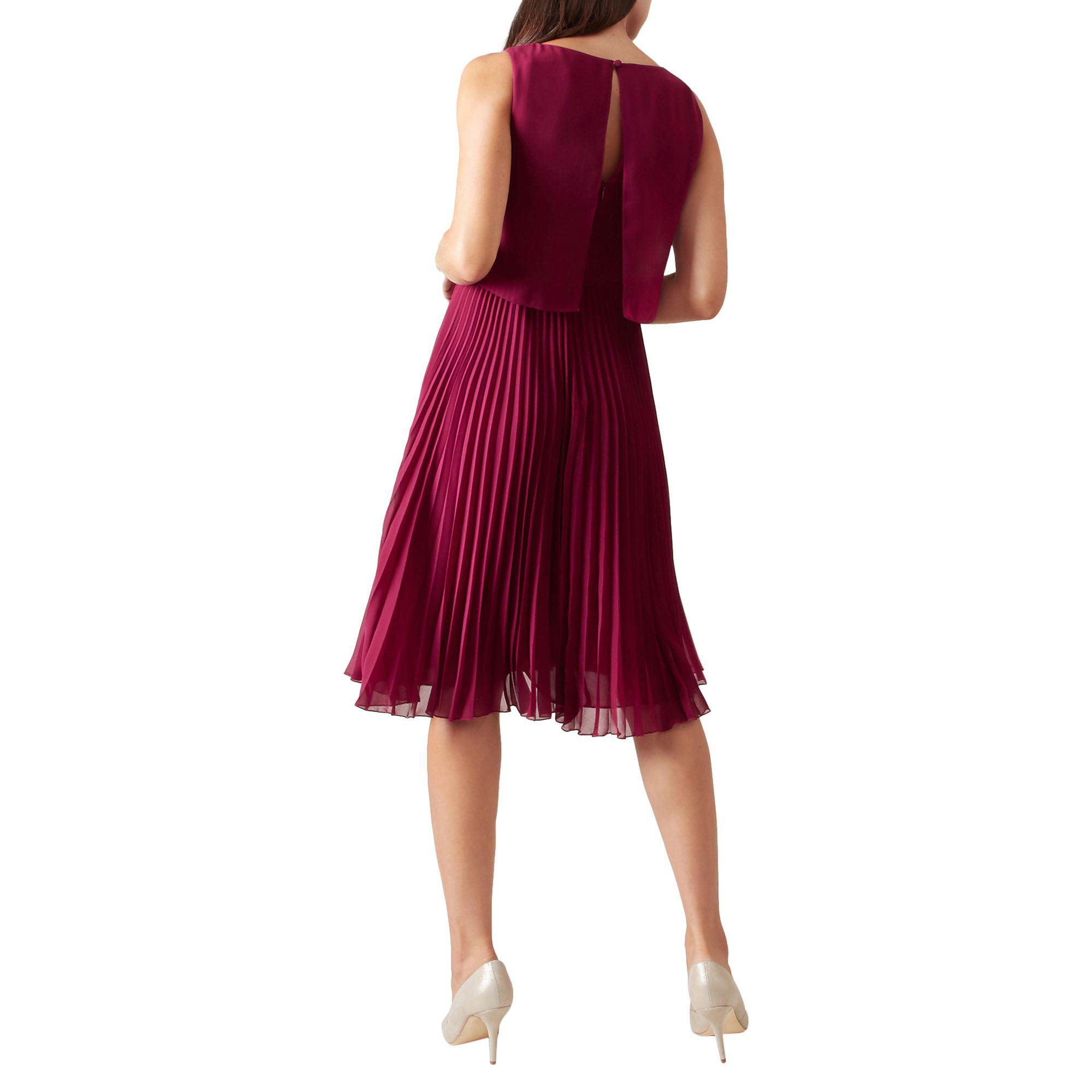 new lower prices wide varieties the best attitude Hobbs Pink 'tabitha' Knee Length Dress - Lyst