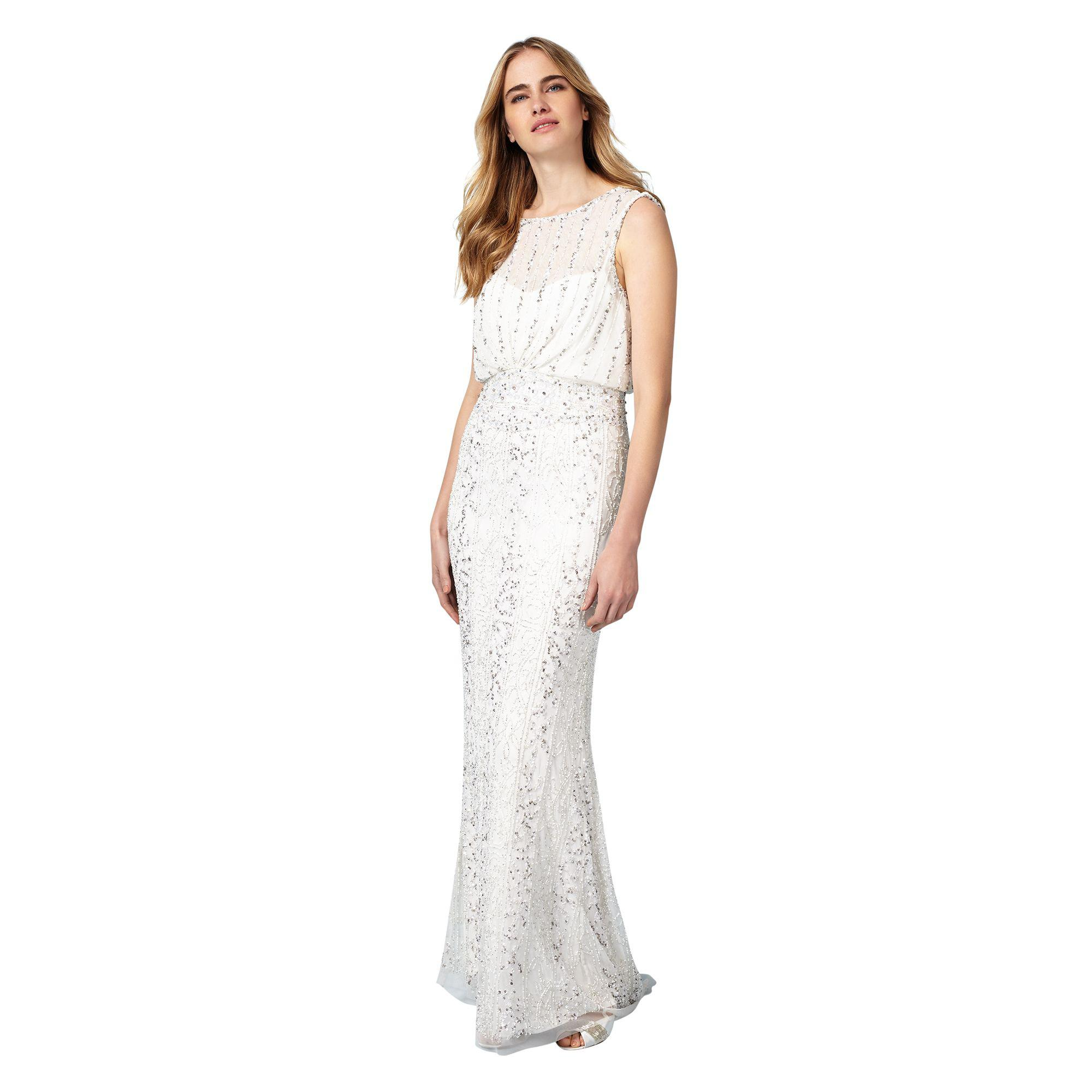 Phase Eight Ivory Hope Wedding Dress in White - Lyst 9ee4e3daf