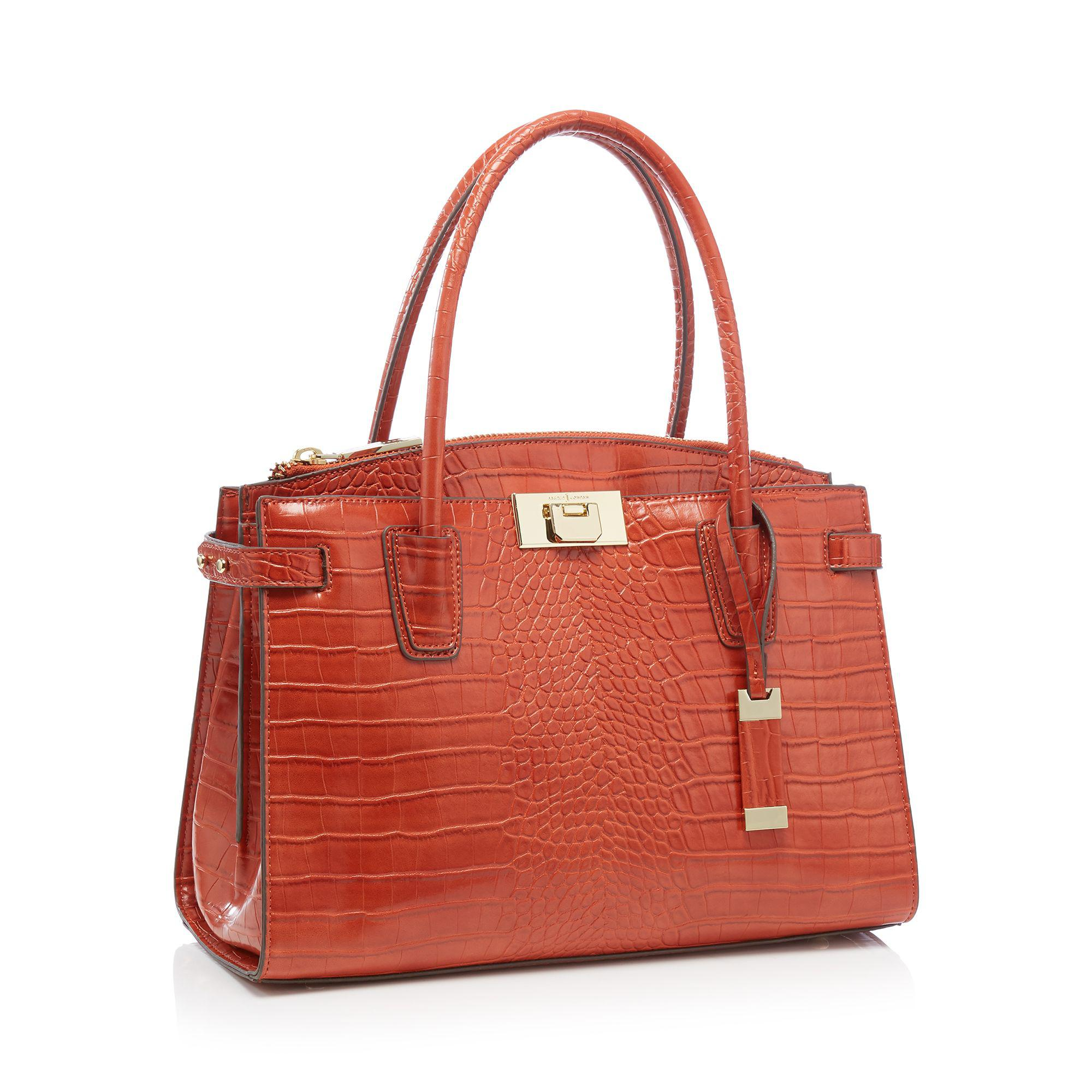 cfdc36b941a0 J By Jasper Conran  green Park  Music Grab Bag in Orange - Lyst