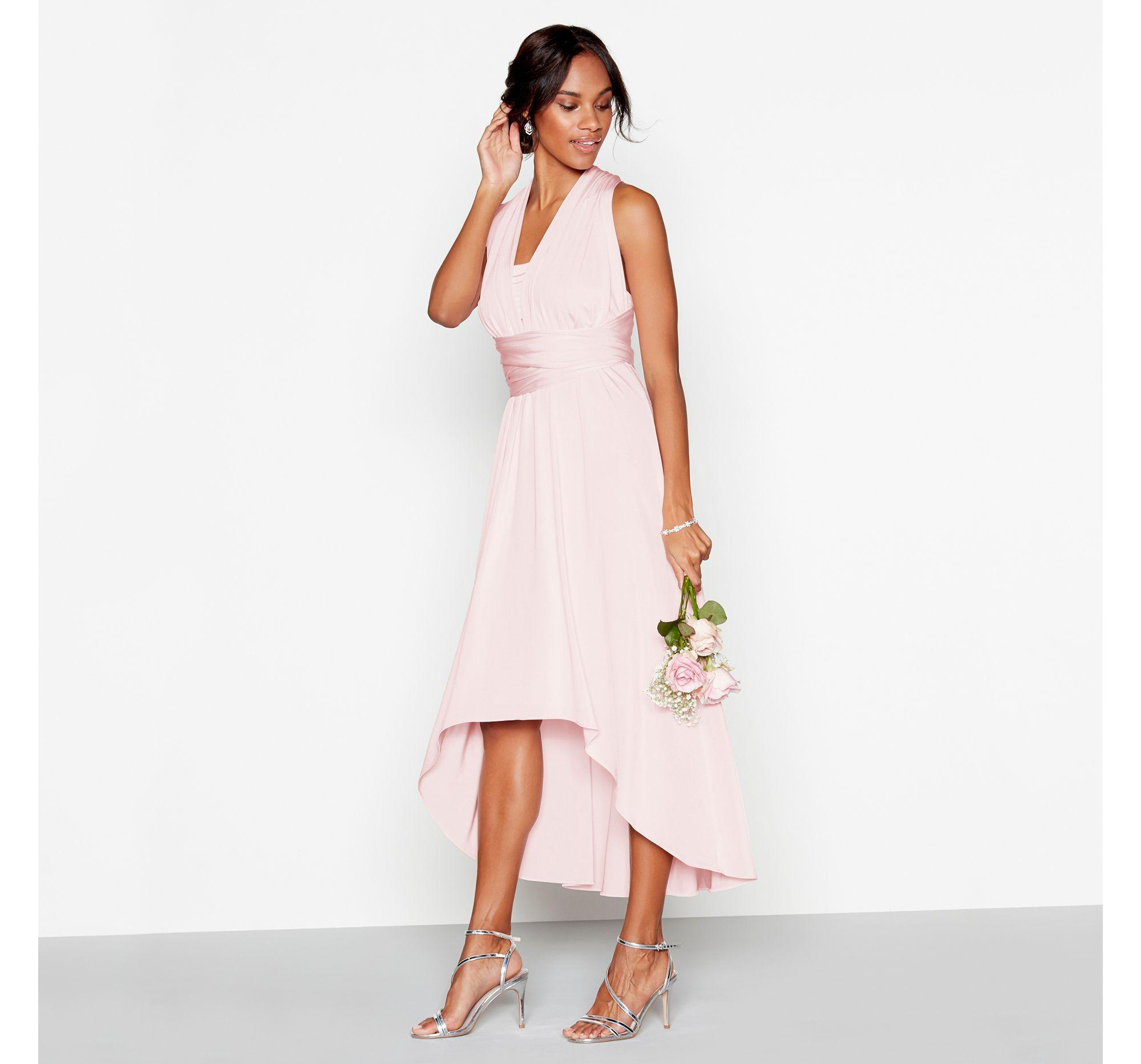 Blush Multiway High Low Dress