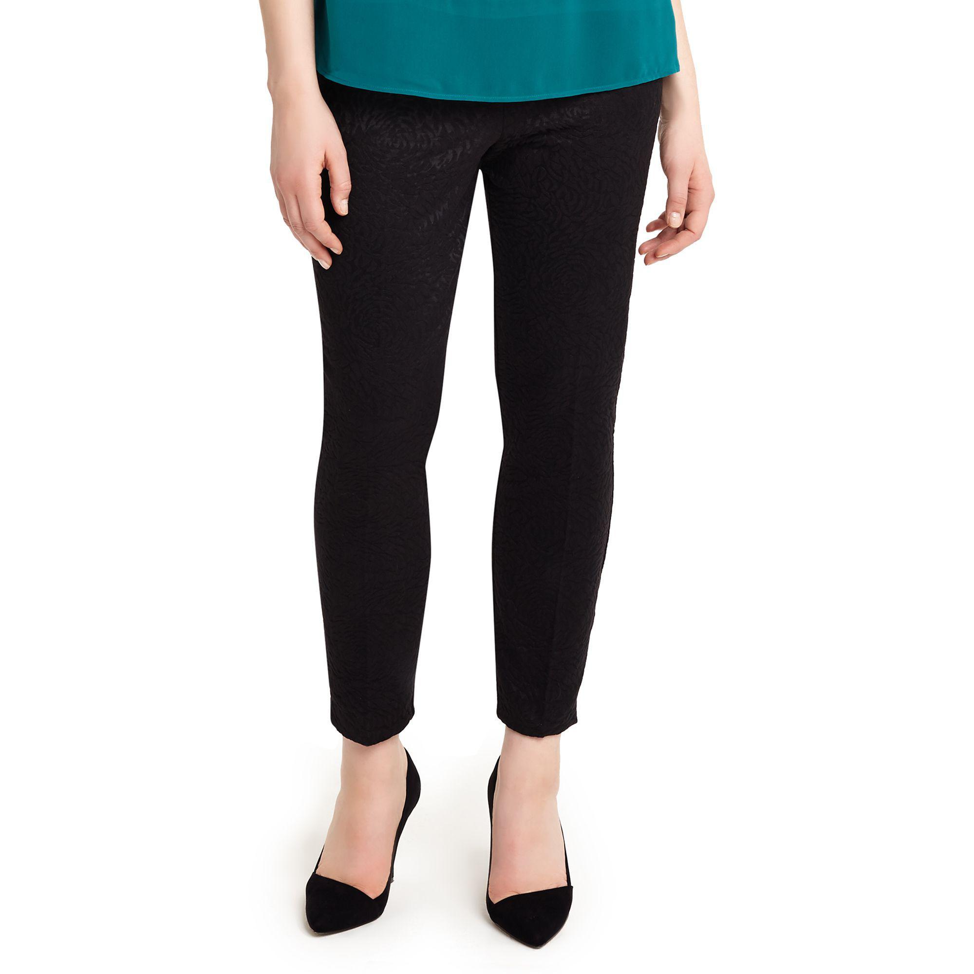 93fd370184865 Studio 8 Sizes 12-26 Black Tabby Trousers in Black - Lyst