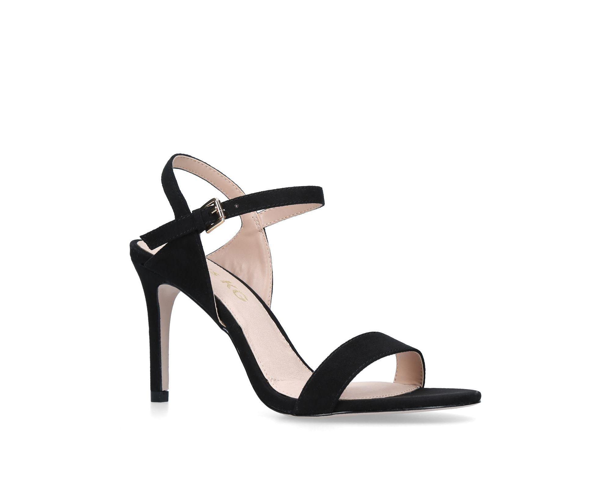 bd7d93e83be Miss Kg - Black  poppy  Mid Heel Sandals - Lyst. View fullscreen