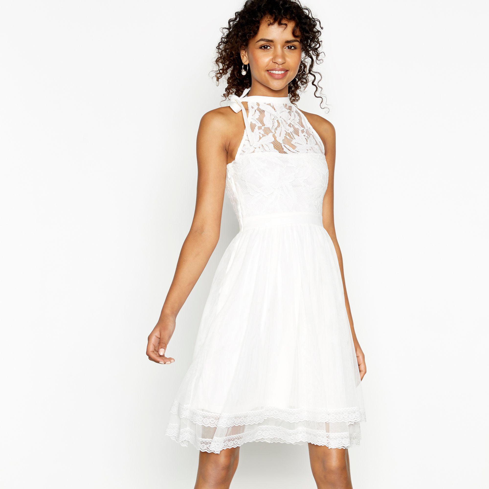 cf0f22de797 Floral Knee Length Evening Dress - Gomes Weine AG