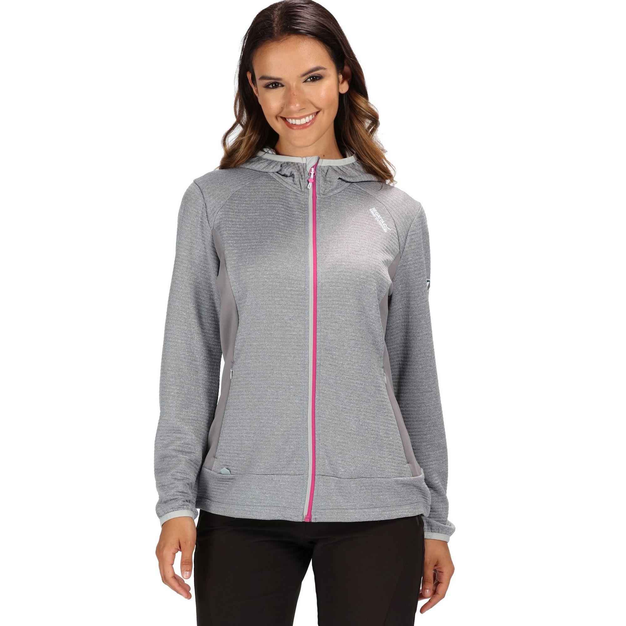 2 x Regatta Ramosa Womens Full Zip Fleece Jacket Blue /& Orange