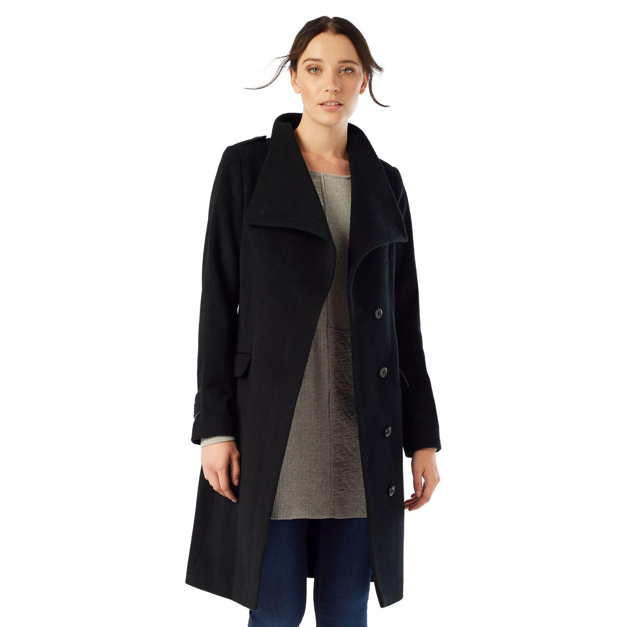 the best new product online for sale Donnalyn Wrap Neck Coat