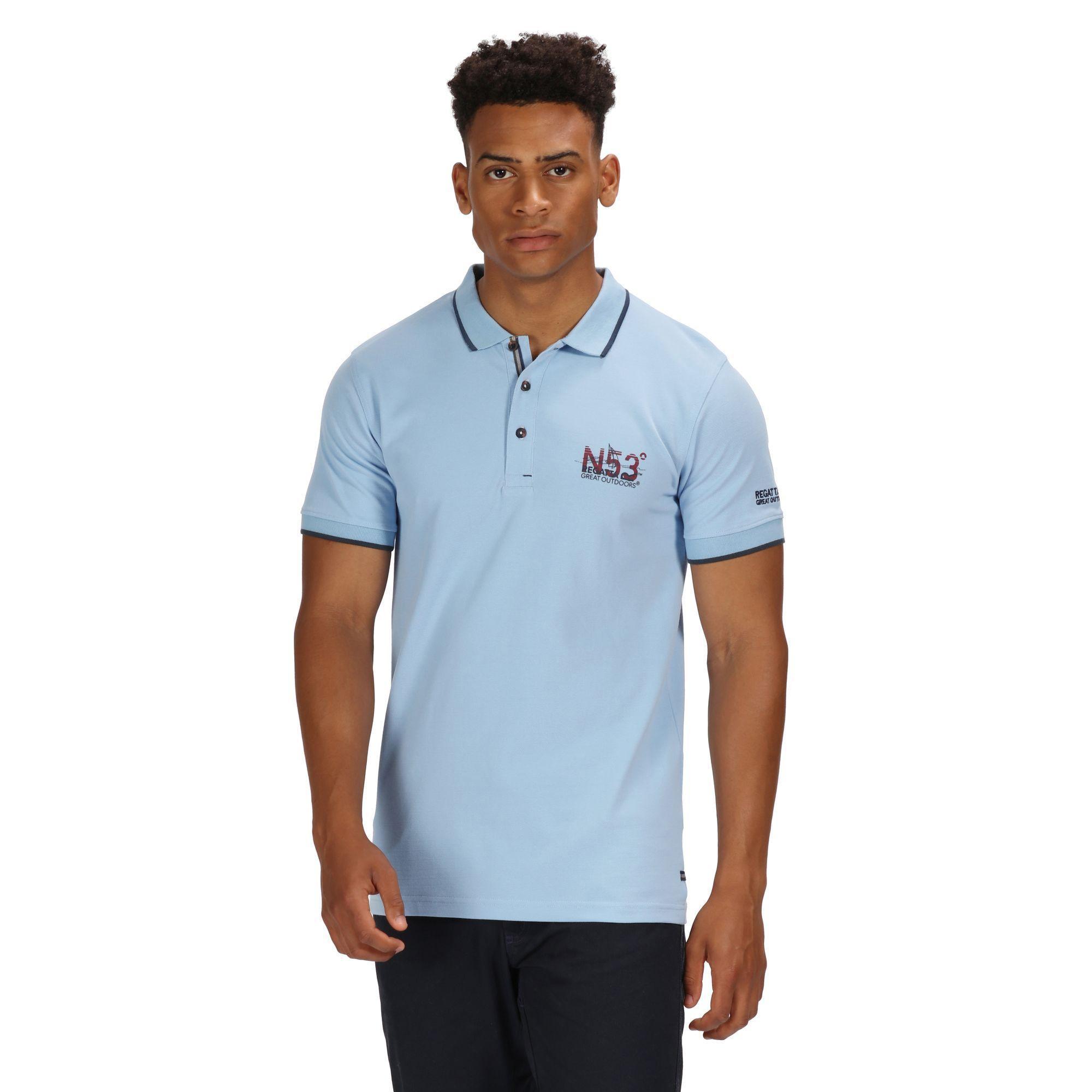Cotton Tavish Navigator Polo Shirt