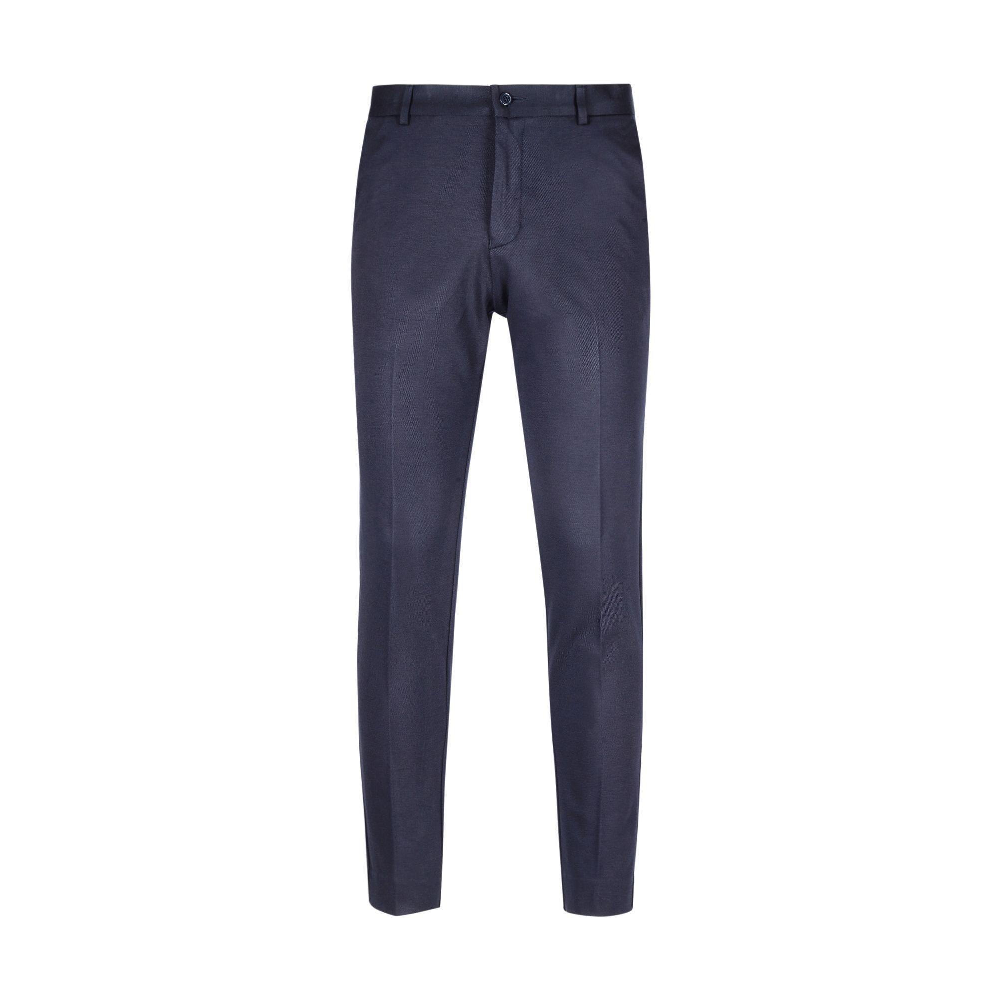 For Love & Lemons Berghen Navy Jersey Trousers in Blue for Men