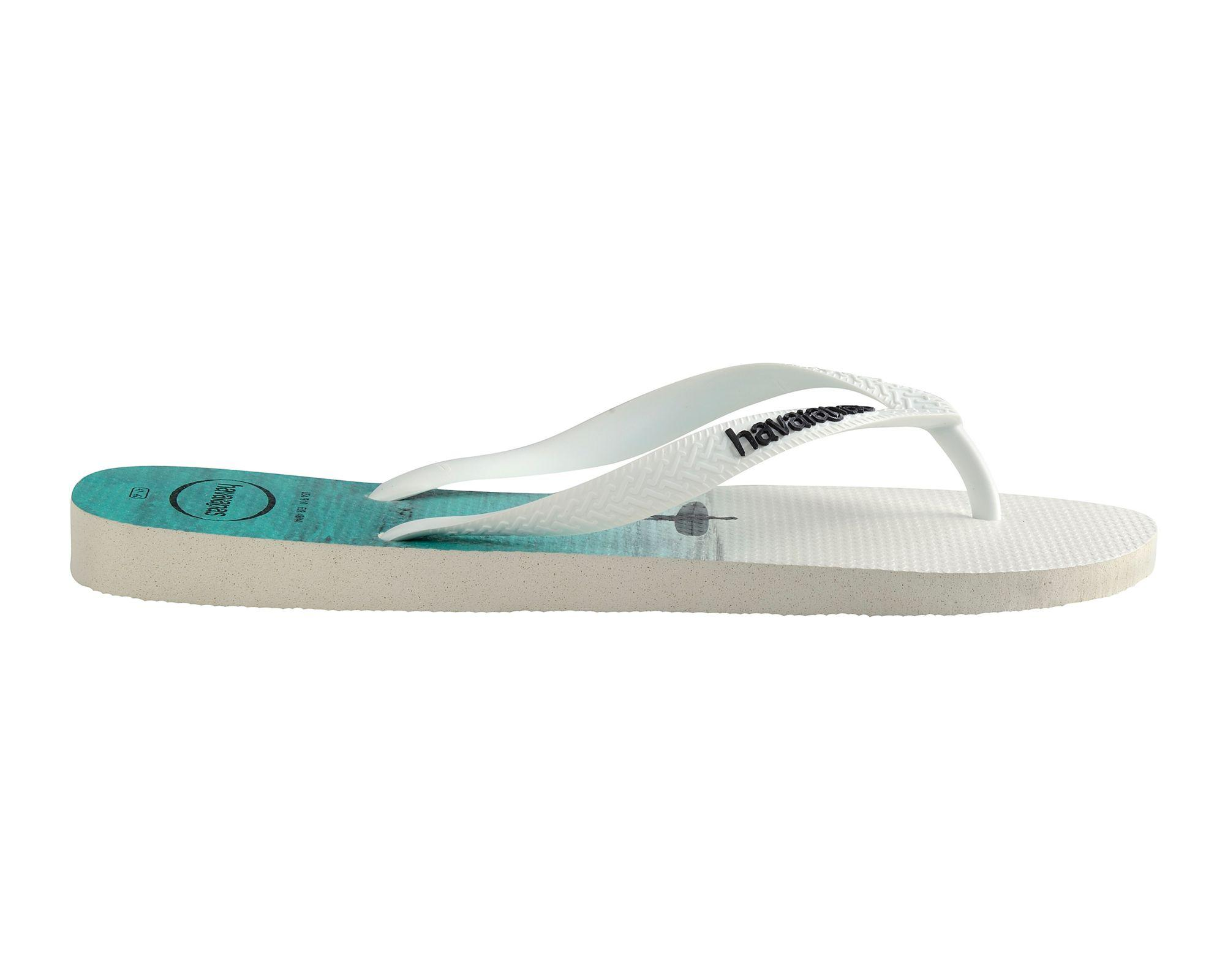 bf2b65871 Havaianas White Hype Flip Flops in White for Men - Save 68% - Lyst