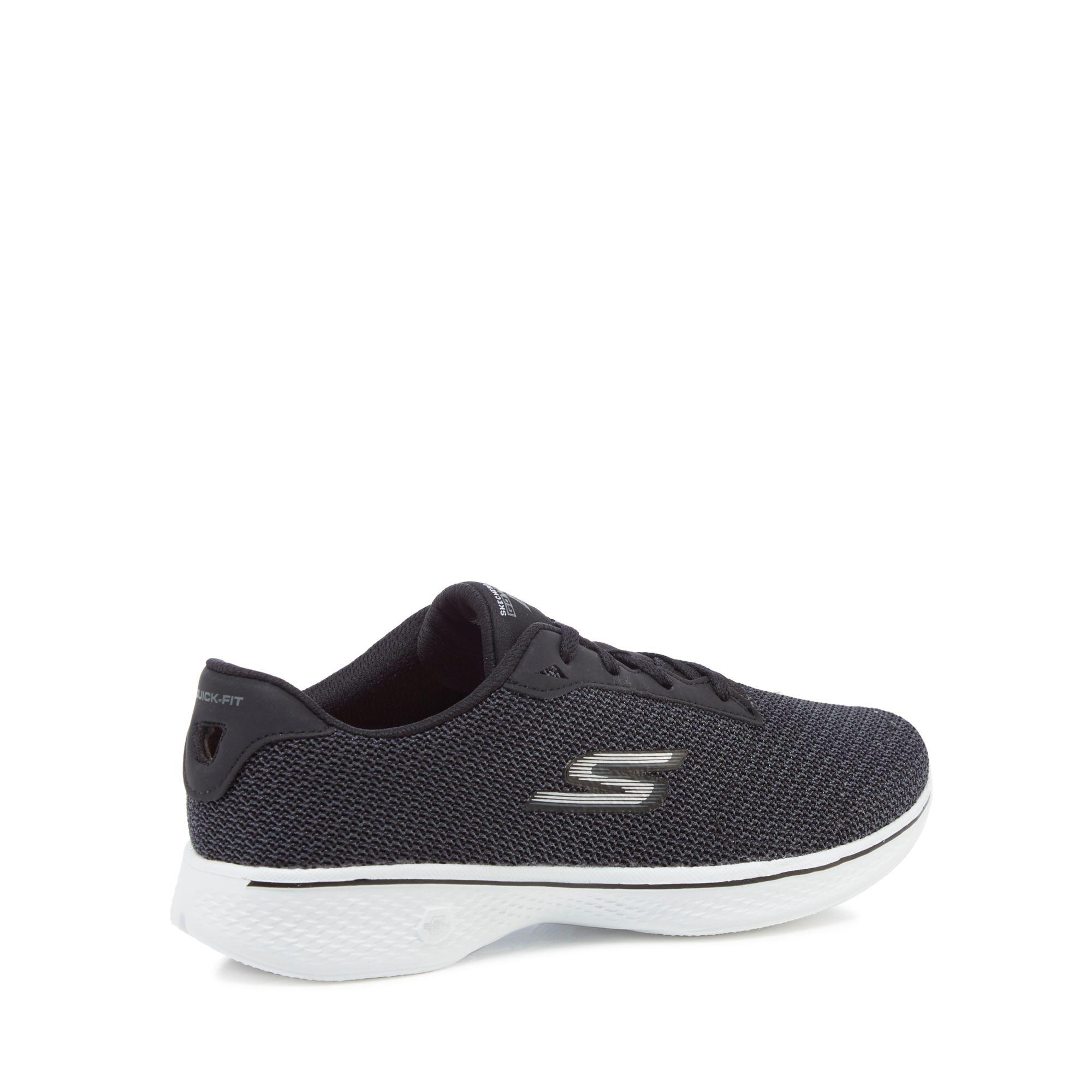 sale store free shipping shop for Black 'Go Walk 4 Glorify' trainers excellent online cheap for nice affordable online hAJA1wU