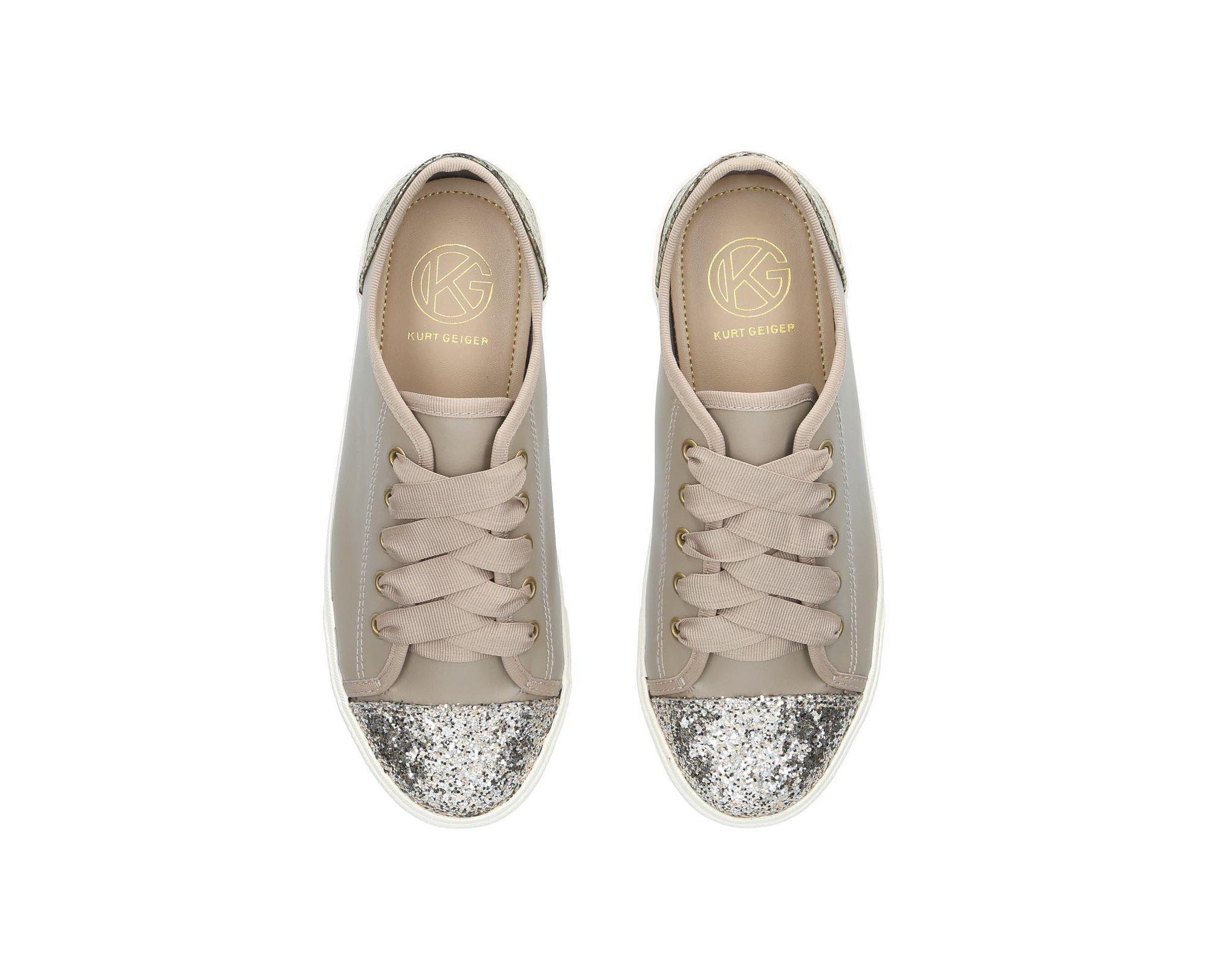 Miss Kg 'lucca' Lace-up Trainers in Grey (Grey)