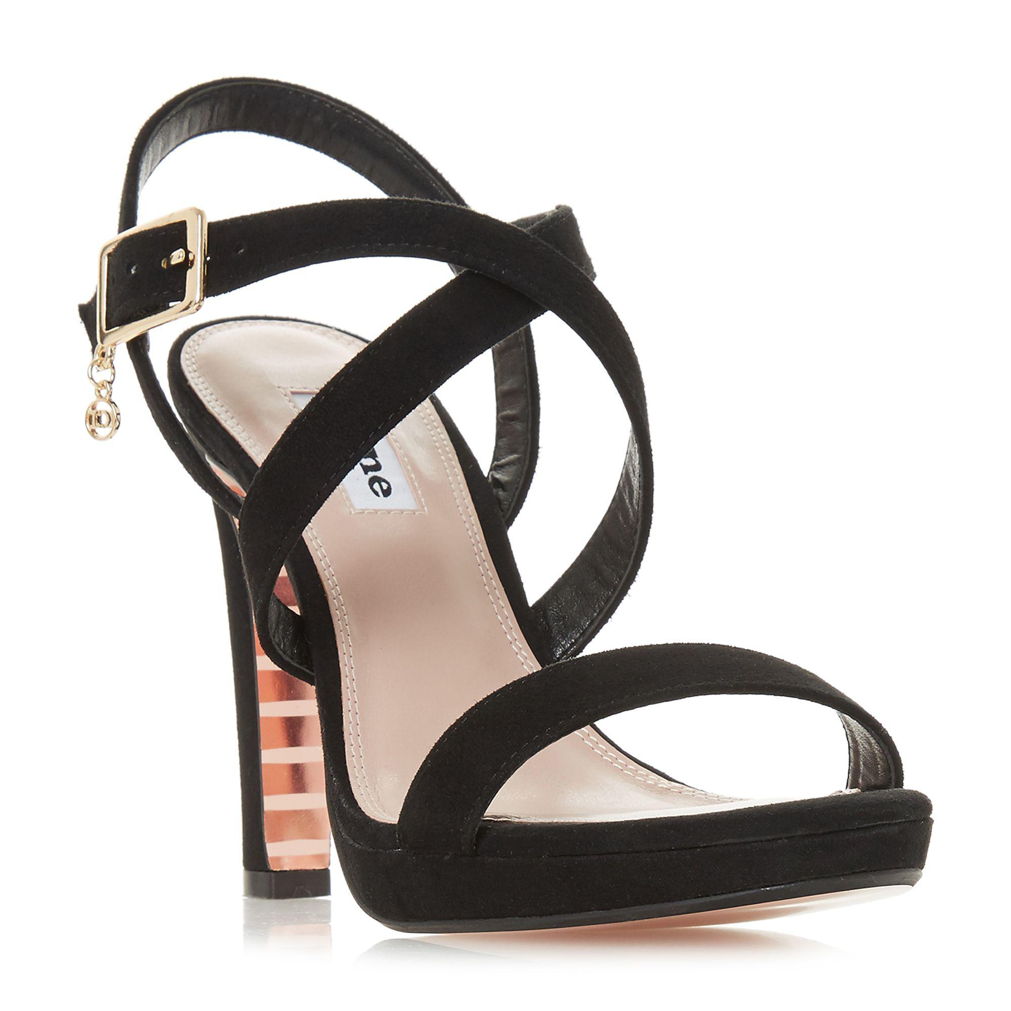 sale 100% authentic Gold 'Misstee' high stiletto heel ankle strap sandals cheap sale latest collections for sale cheap real explore cheap online svXOoXoU