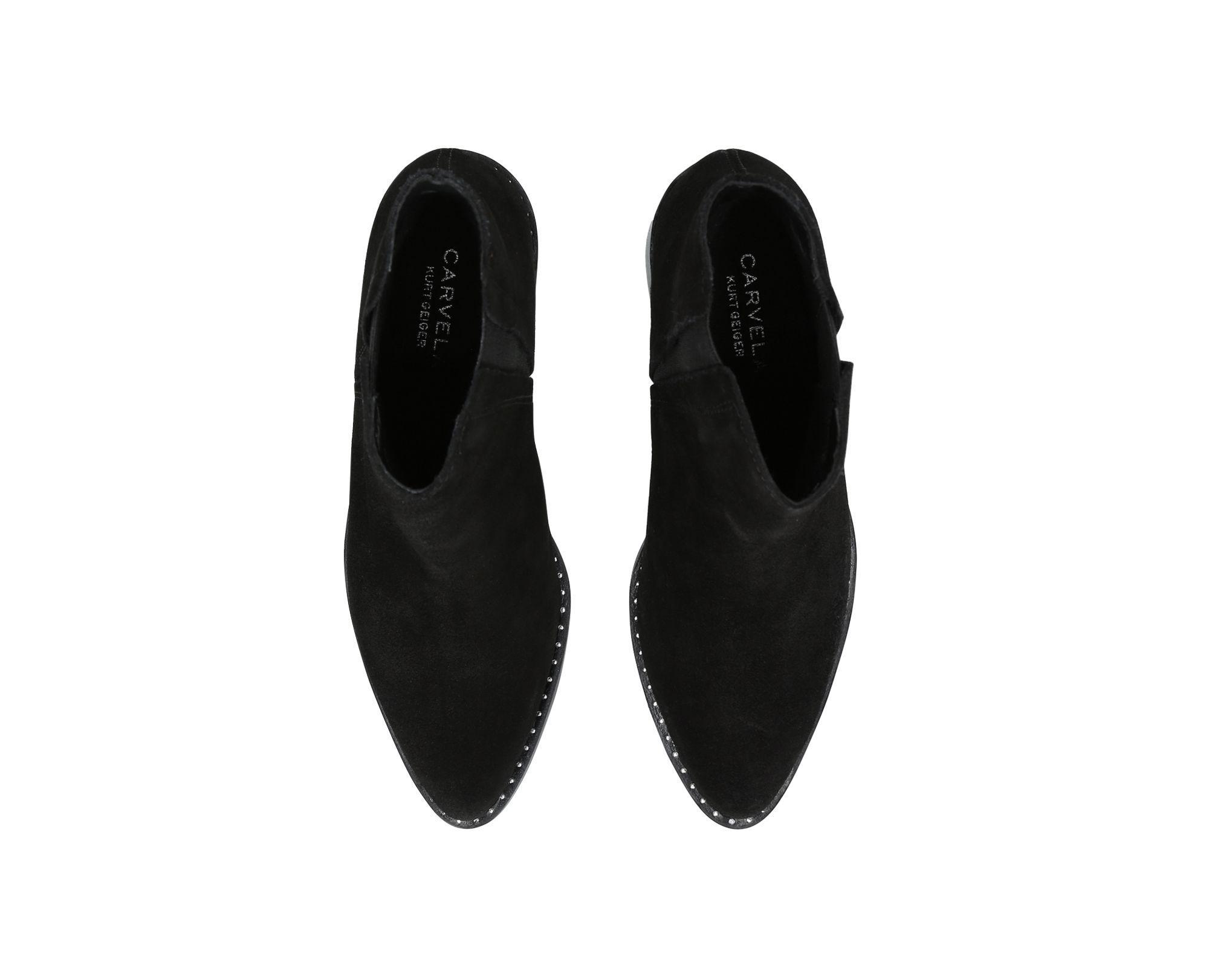 Carvela Kurt Geiger Suede 'steve' Ankle Boots in Black