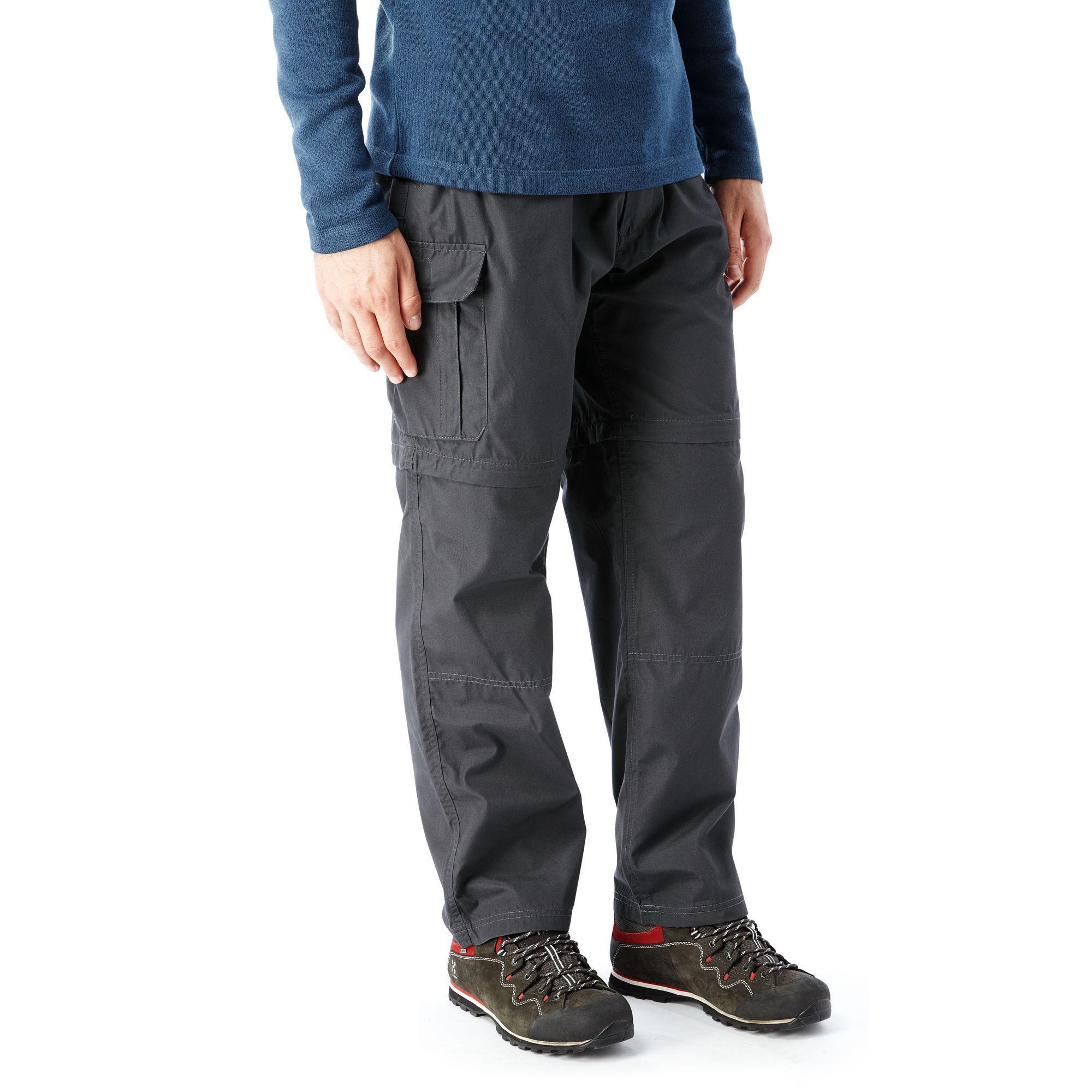 3886b7c5ce Craghoppers - Gray Black Pepper Kiwi Convertible Trousers for Men - Lyst