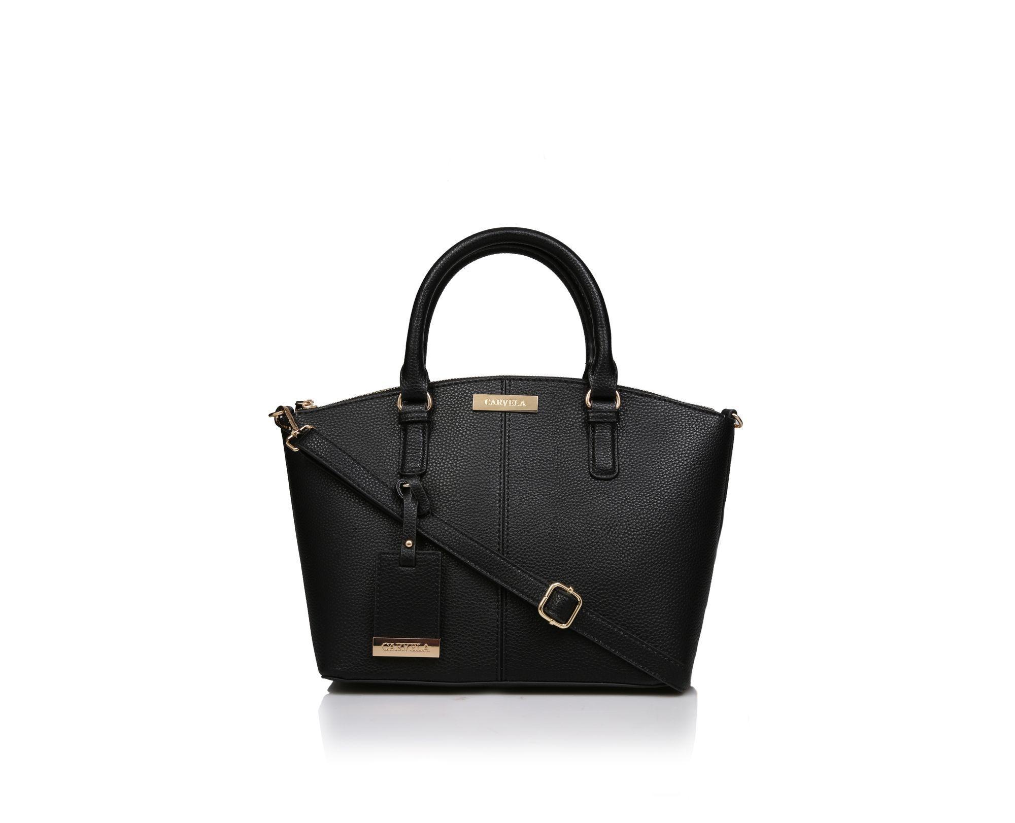 Carvela Kurt Geiger Synthetic Blossom Mini Tote Handbags Black