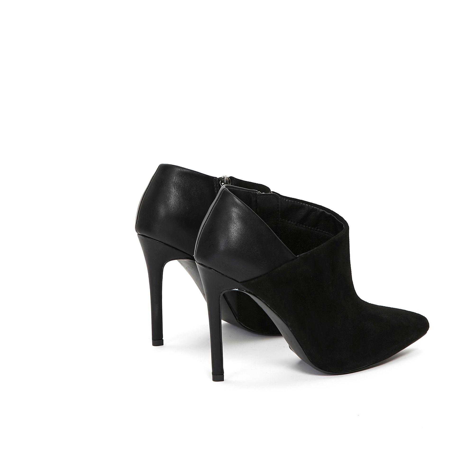 cheap huge inventory best selling Black High Heel Pointed Shoe Boot