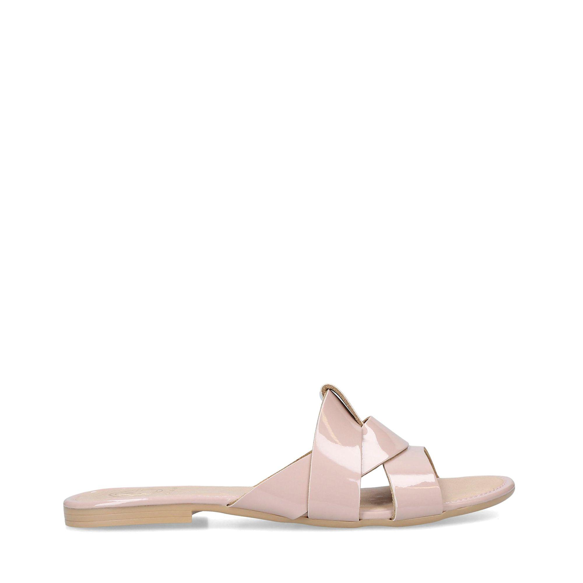KG by Kurt Geiger Match Sandals in Nude (Natural) - Lyst