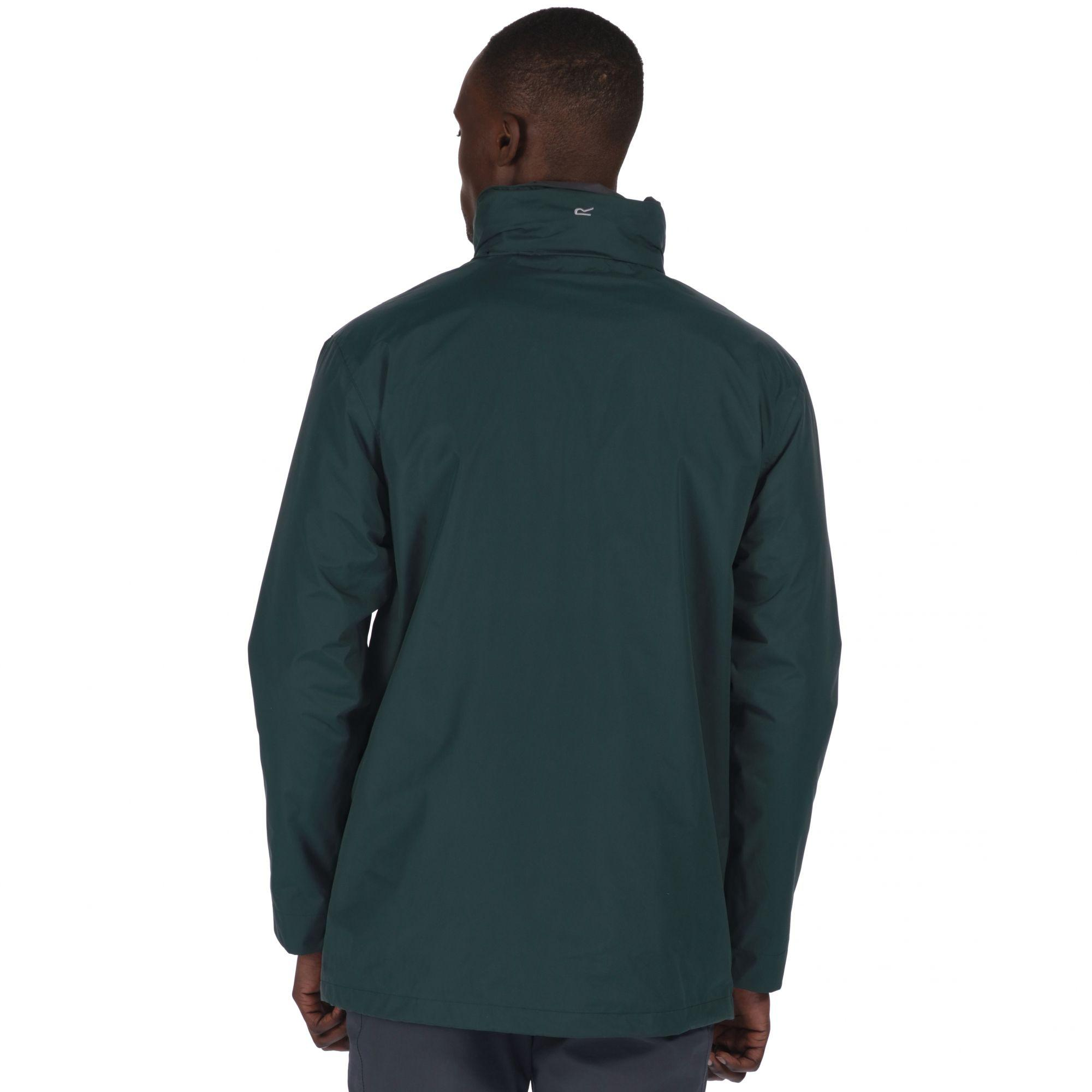 Regatta Fleece Green 'telmar' 3-in-1 Jacket for Men