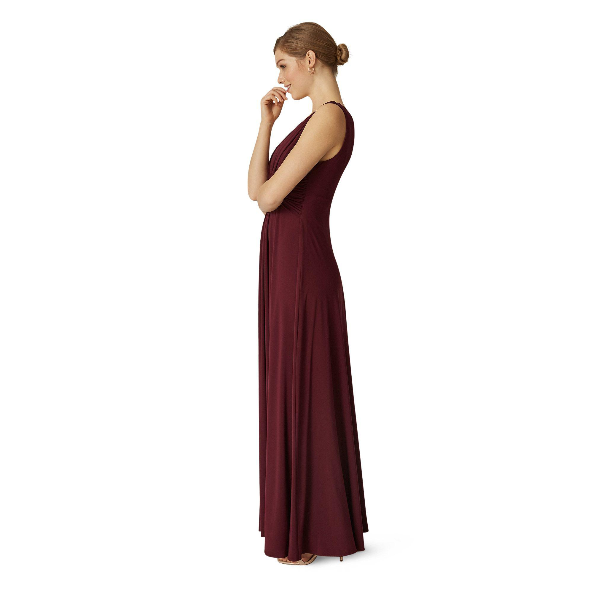 cfeb06220e9 Phase Eight Berry Arabella Maxi Dress in Red - Lyst