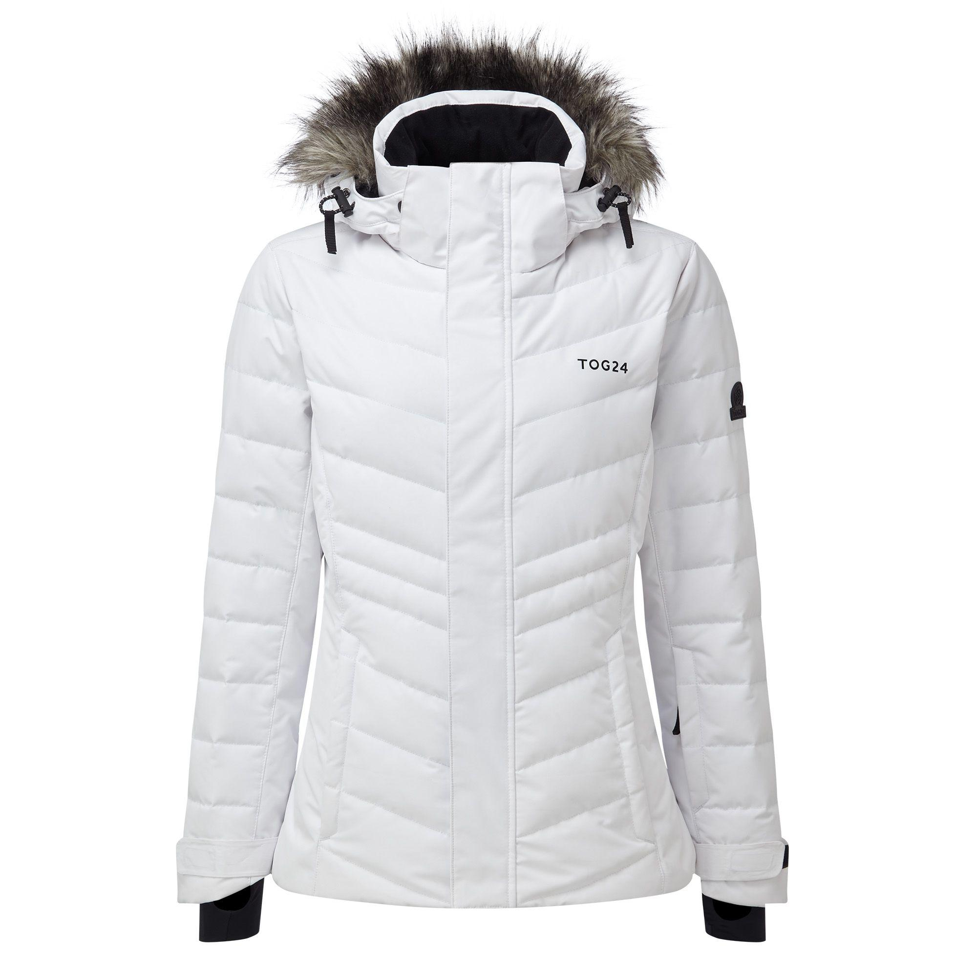 849fb69041 Tog 24 White Kirby Womens Down Fill Ski Jacket in White - Lyst