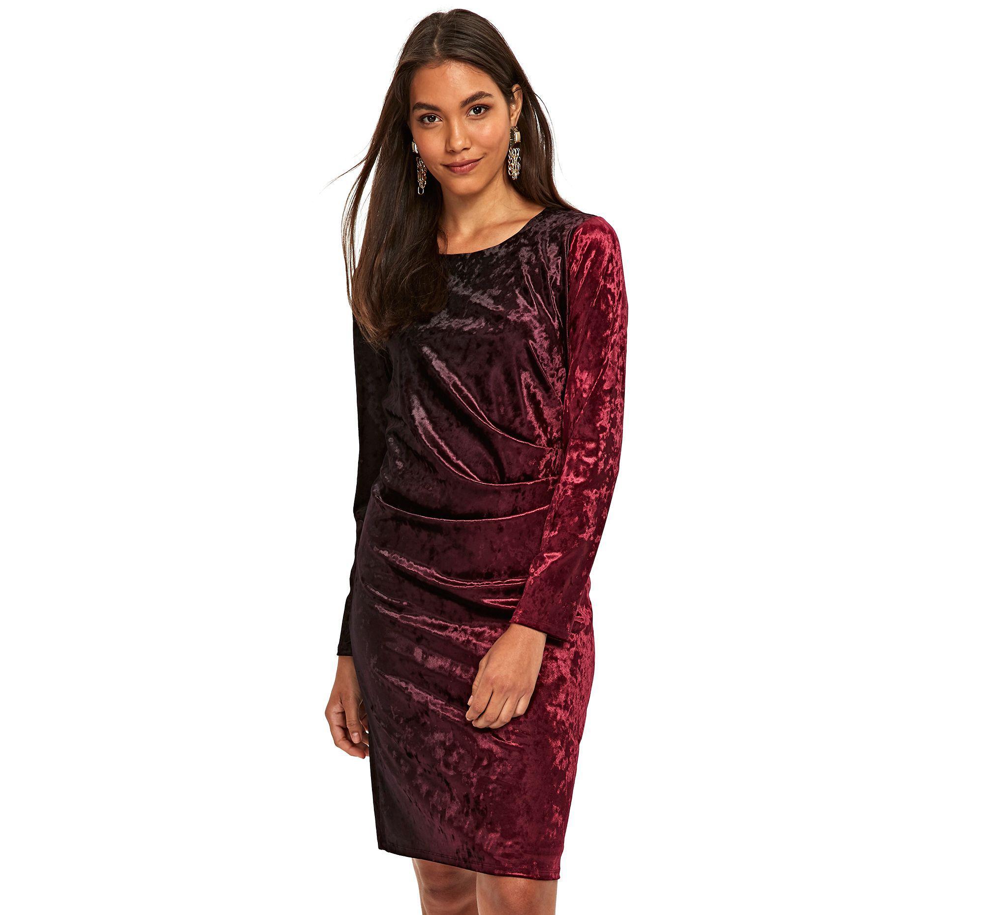 edc4fe7f38c3 Wallis Black Cosmic Ruched Side Shift Dress in Black - Lyst