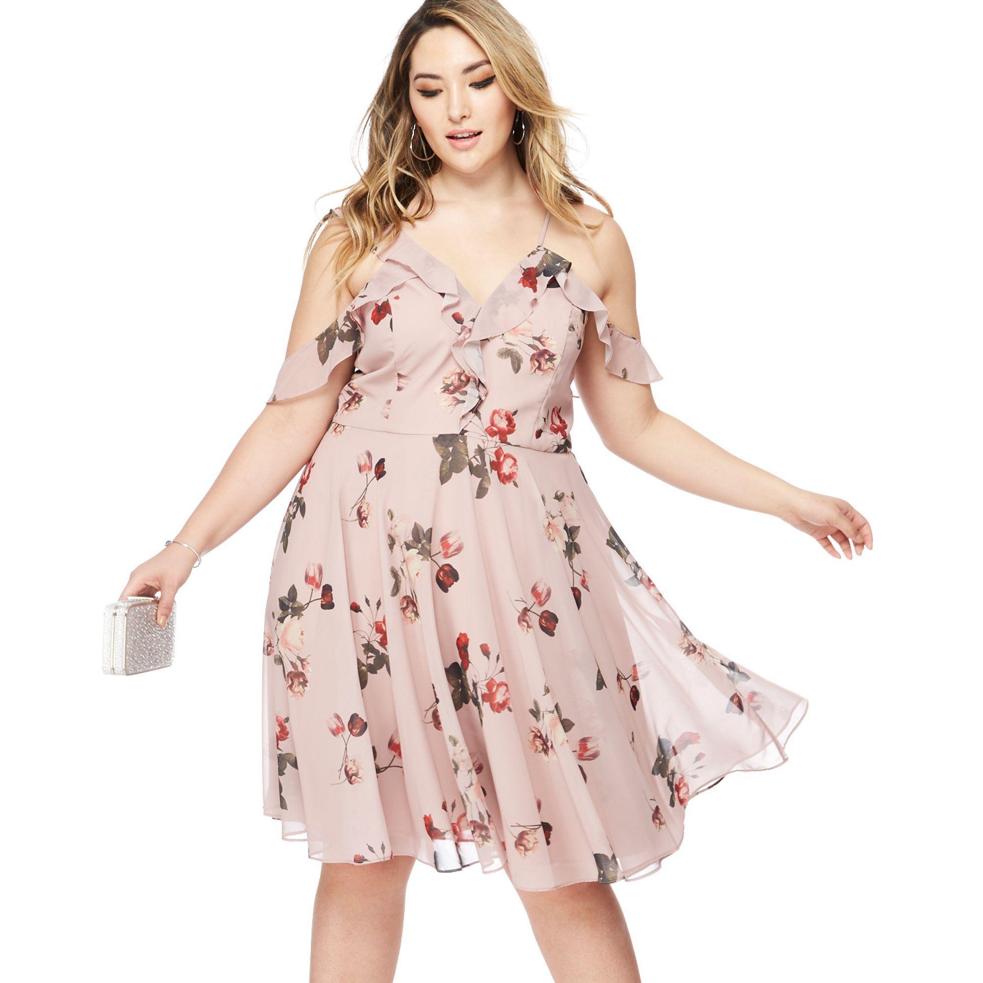 5ba888202a Lipsy Dark Floral Print Lace Midi Dress - Gomes Weine AG
