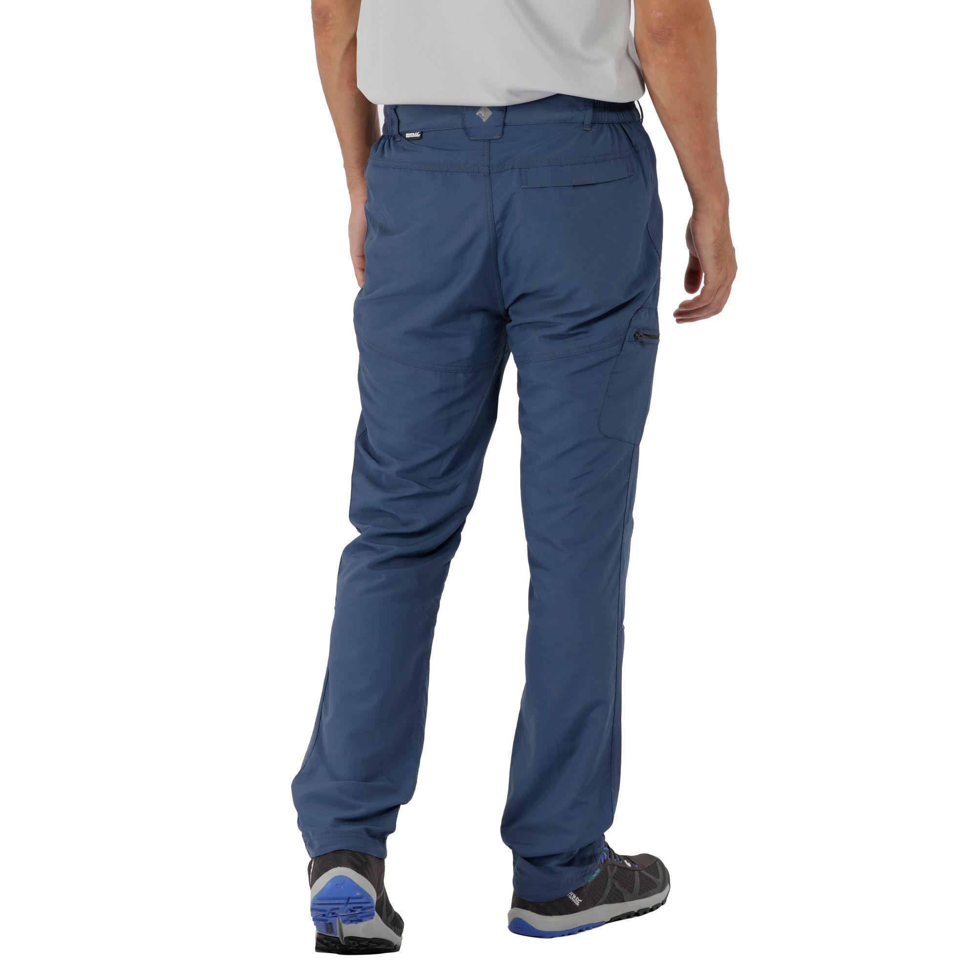 Regatta Synthetic Blue 'leesville' Trousers for Men
