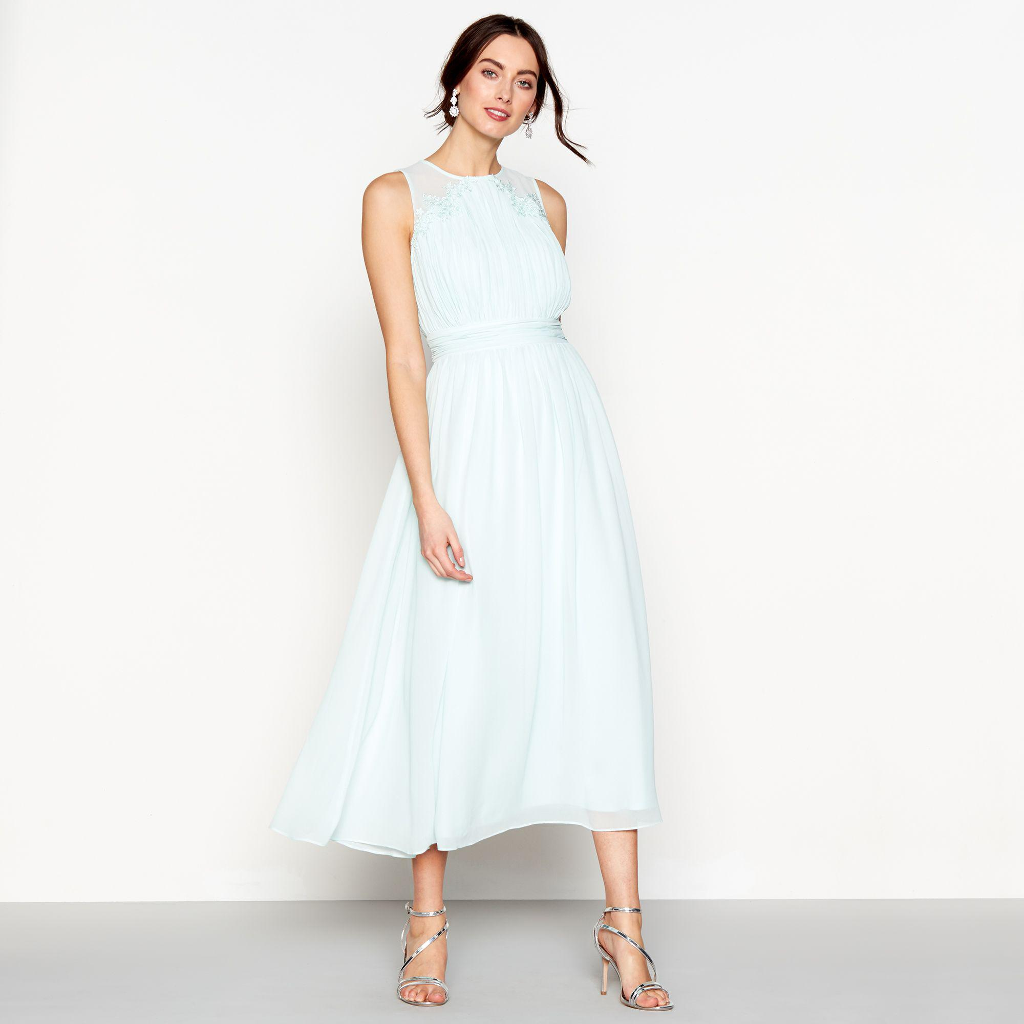 7622a84fc21 Debenhams Pale Green Bridesmaid Dress