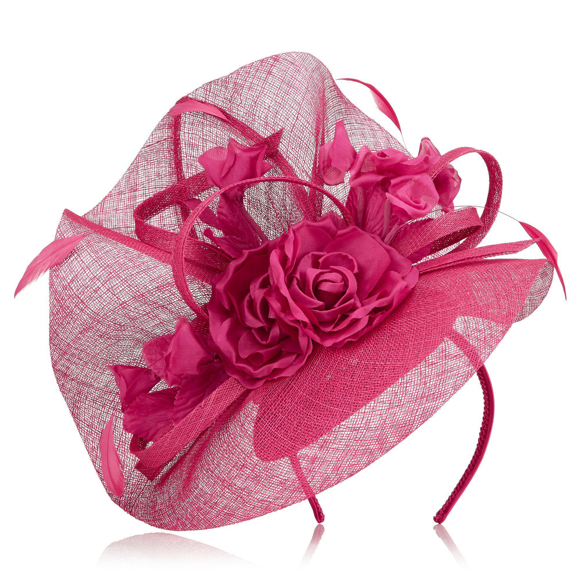 Jacques Vert Spiral Flower Fascinator In Pink Lyst