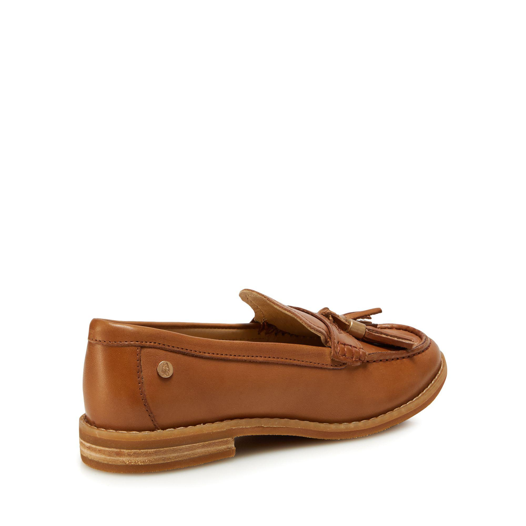 a94bdc108d0 Hush Puppies Tan Leather  chardon Penny  Loafers in Brown - Lyst