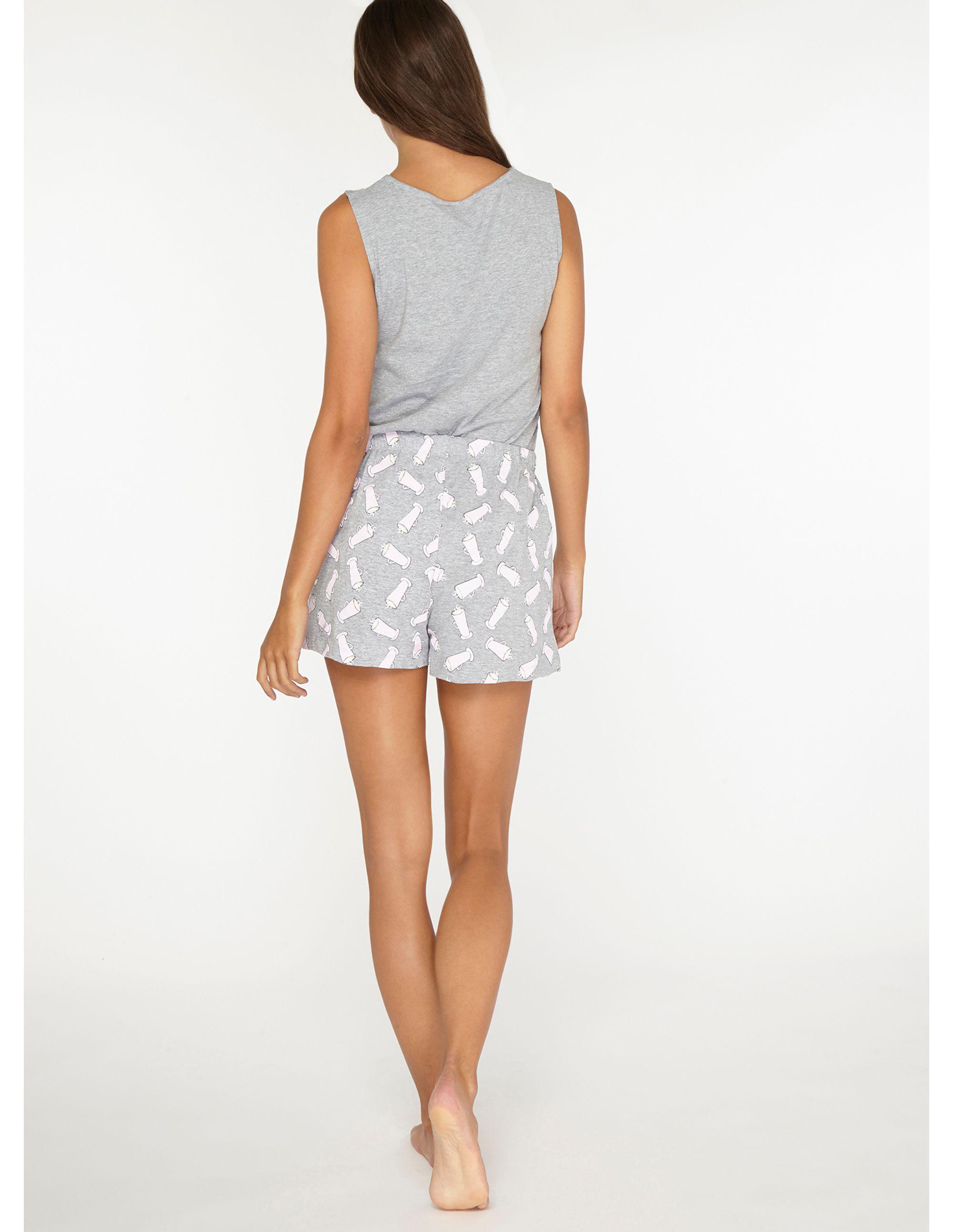 fafd40dde0 Dorothy Perkins Tall Grey Latte Pyjama Set in Gray - Lyst