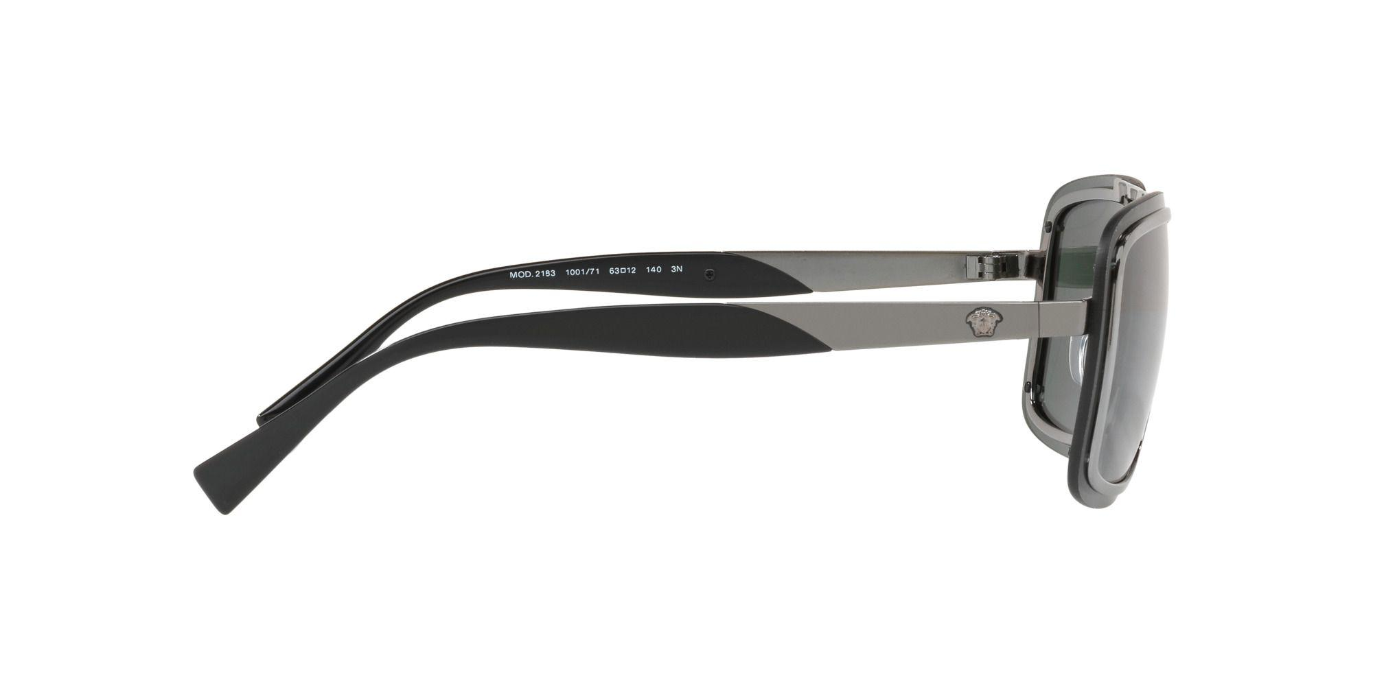 c86a7f662317 Versace - Gray Gunmetal Ve2183 Square Sunglasses for Men - Lyst. View  fullscreen