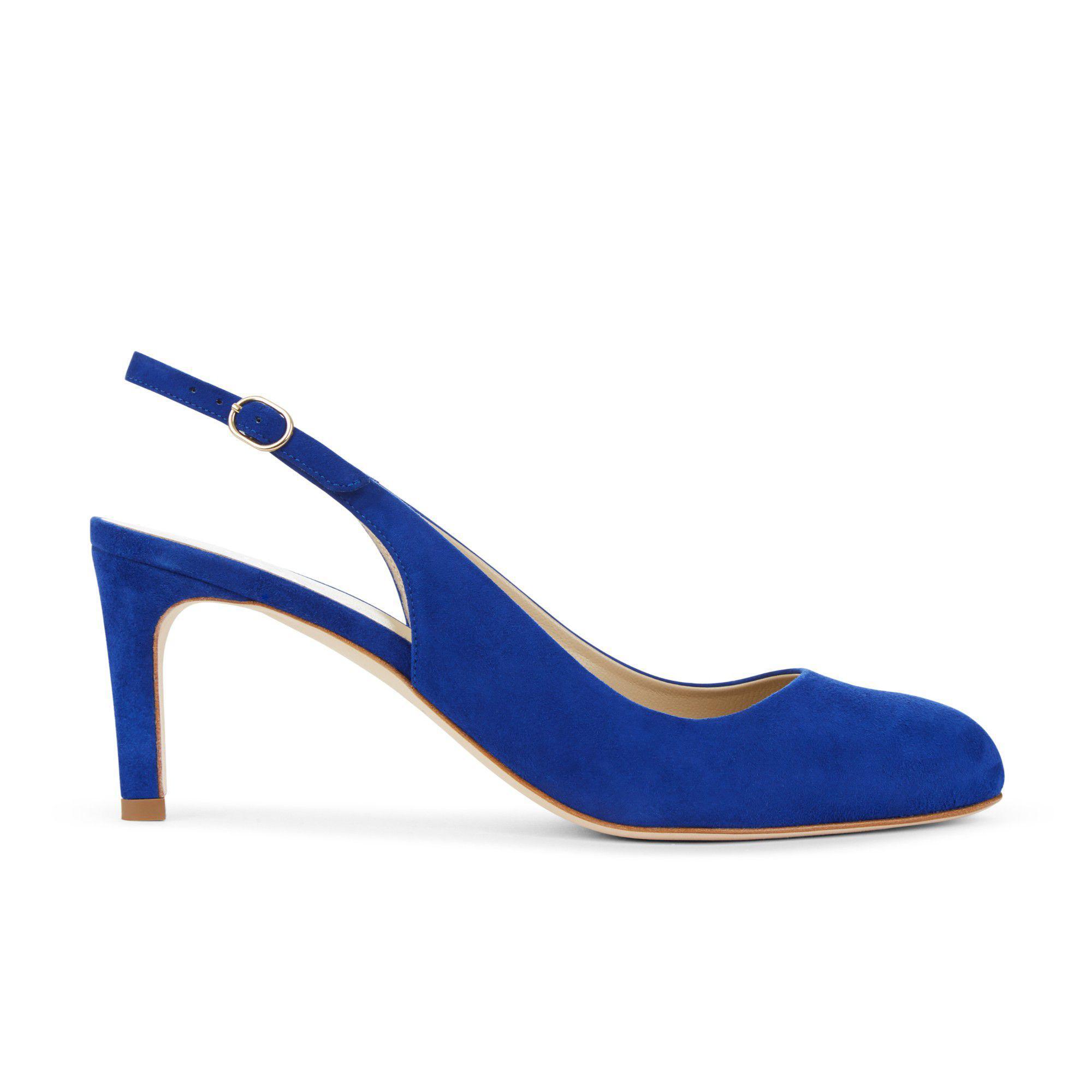 732feb837c234 Hobbs Bright Blue 'sophia' Slingback - Lyst