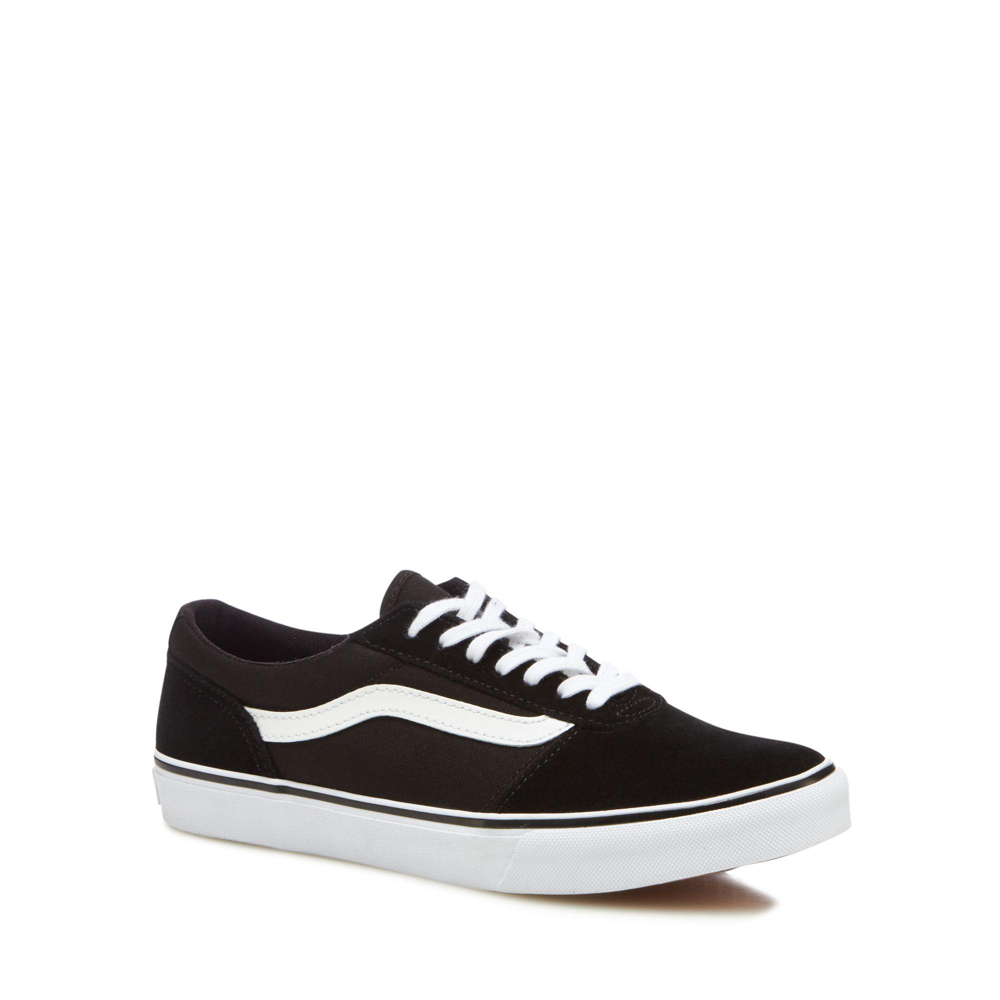 buy cheap websites cheap sale get to buy Black 'Maddie' lace-up trainers buy cheap 100% guaranteed sale online shop cheap finishline zfEKso5r