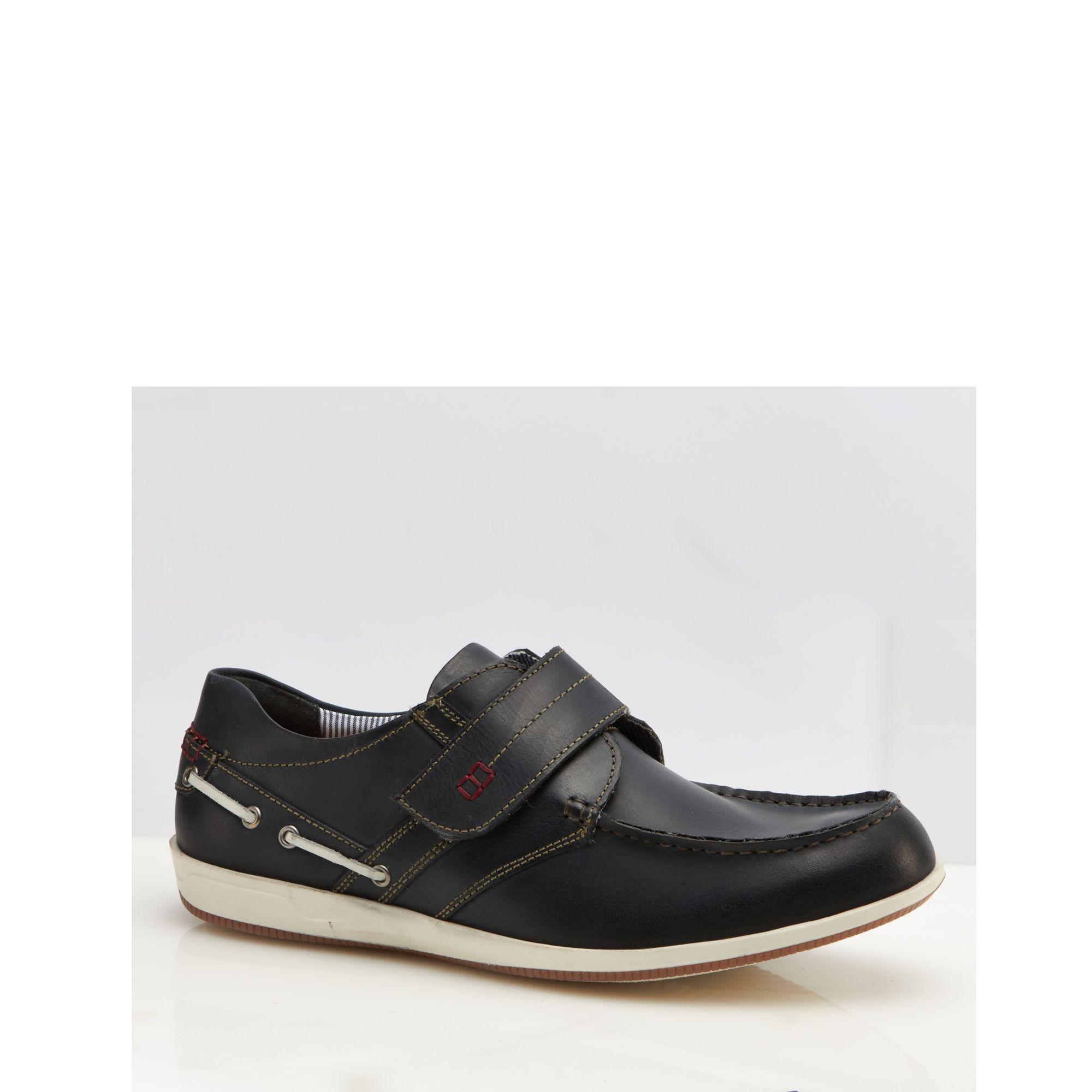 cheap supply Navy leather 'Baldwin' shoes with credit card for sale n7EFv